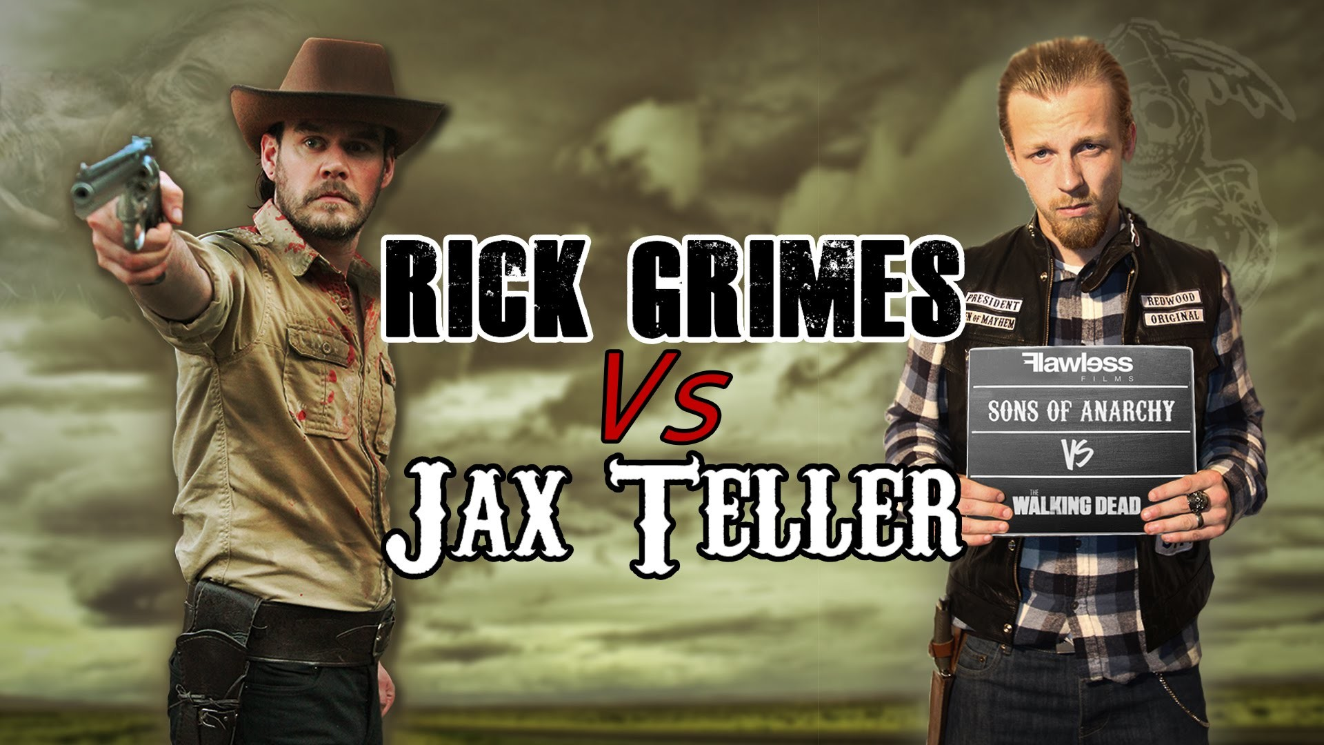 1920x1080 Rick Grimes Vs Jax Teller | The Walking Dead Vs Sons Of Anarchy - YouTube
