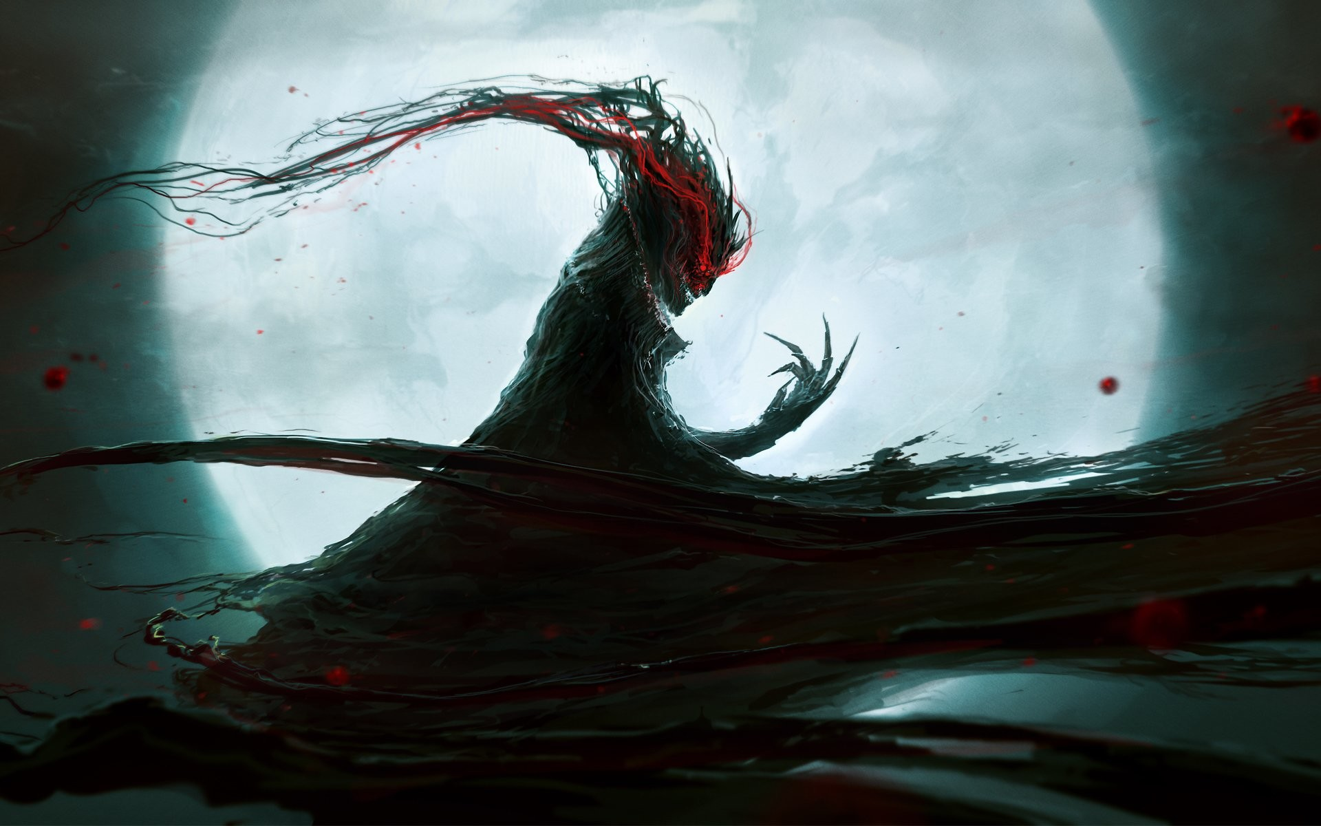 1920x1080 New Scary WallPapers Dark Horror HD Backgrounds The Art 1920A 1080 Wallpaper 48