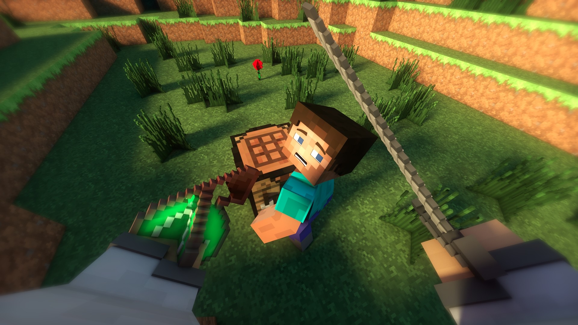 1920x1080 Minecraft, Video Games, Steve Wallpapers HD / Desktop and Mobile .