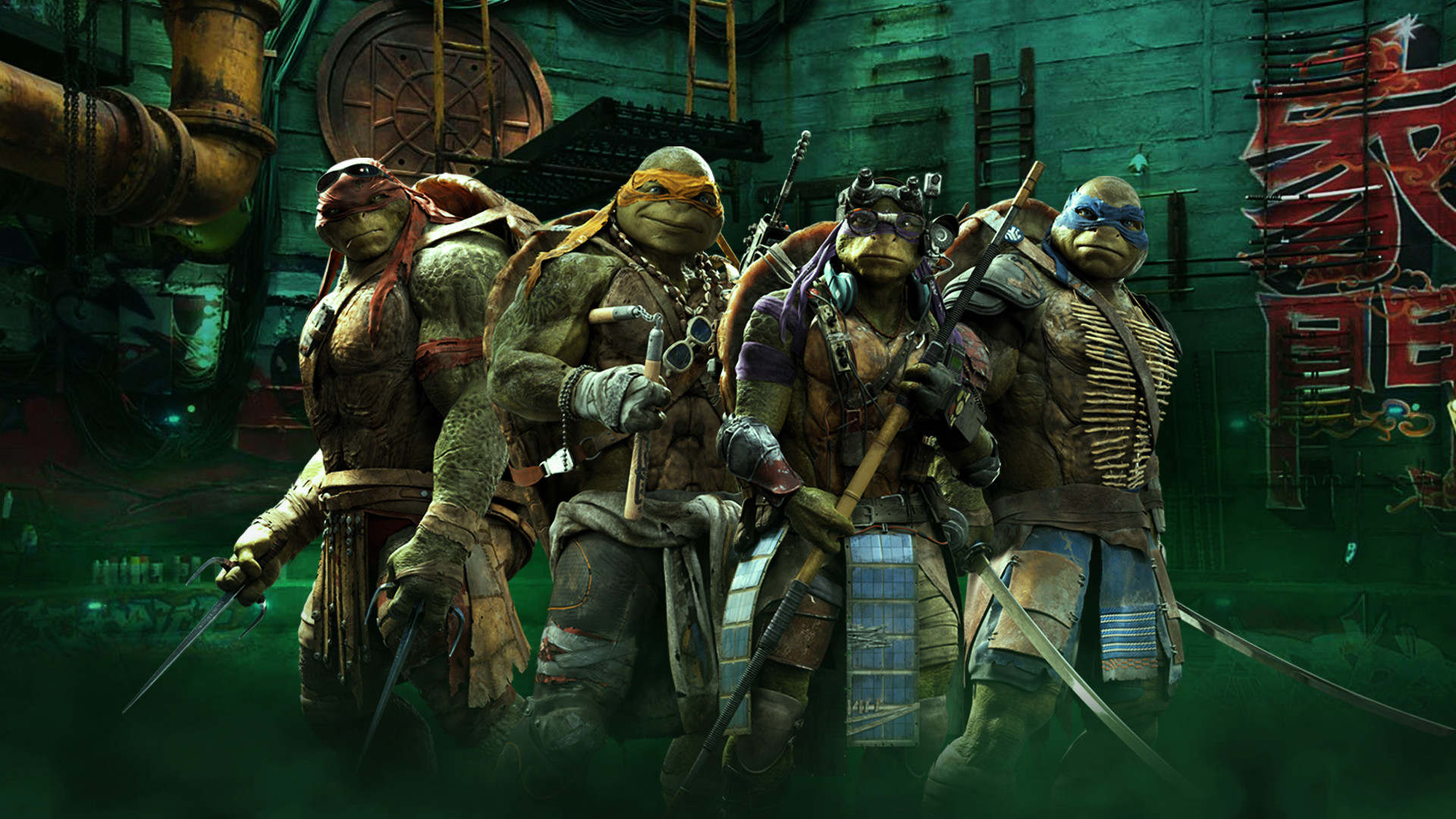 1920x1080 Teenage mutant ninja turtles wallpaper hd.
