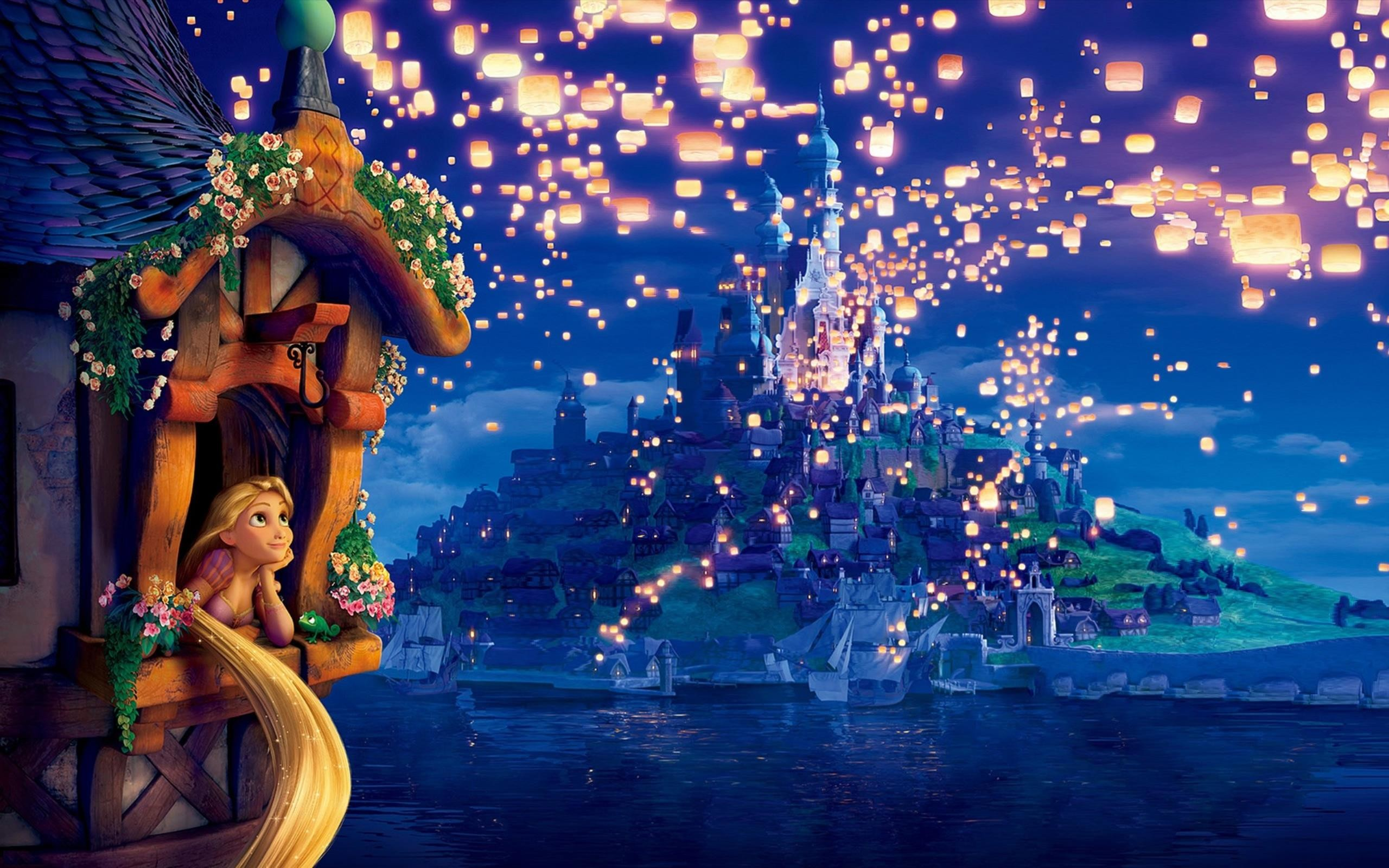 2560x1600 Tangled Movie Wallpaper