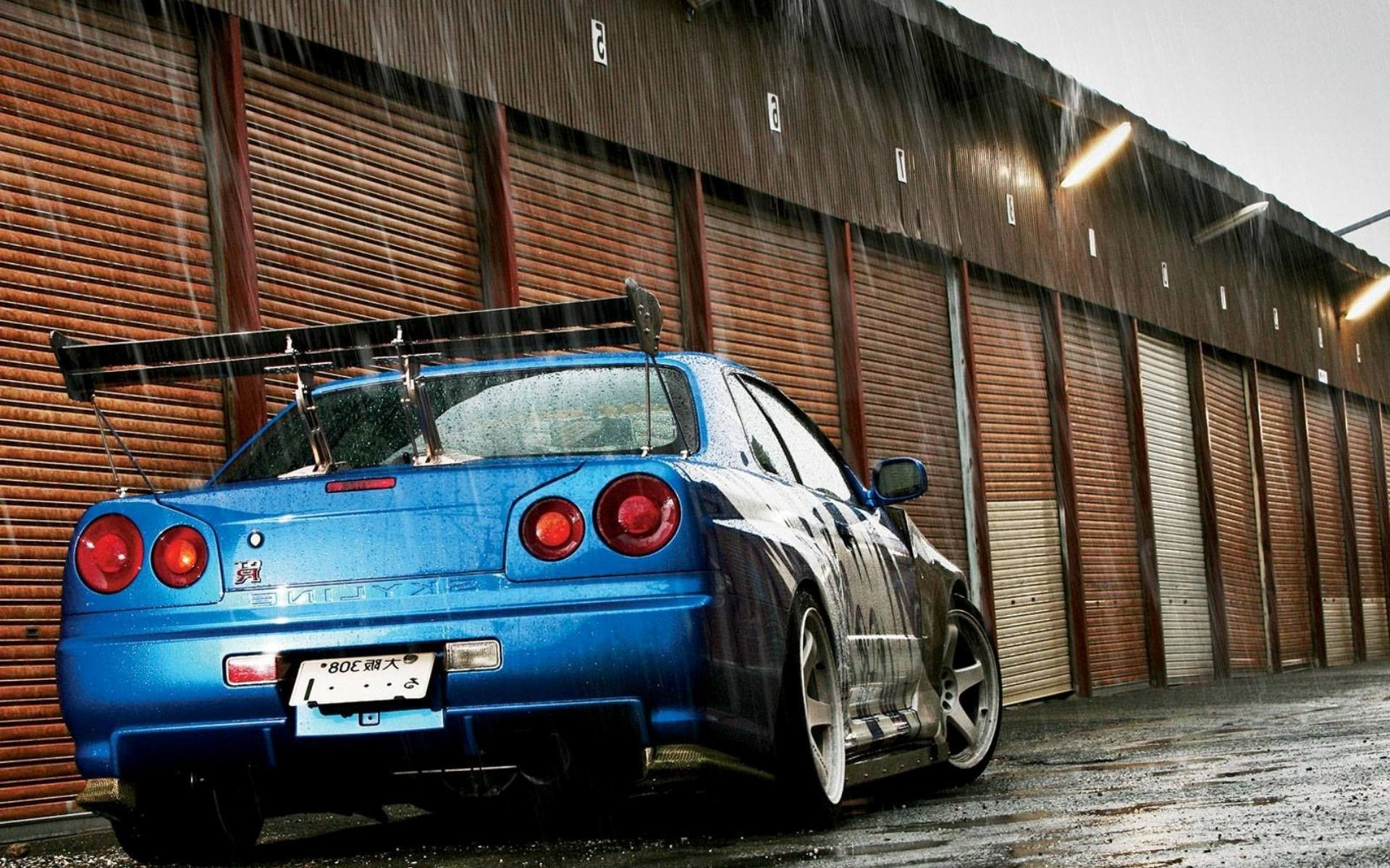 1920x1080 Nissan Skyline Gtr R34 Wallpaper Hd