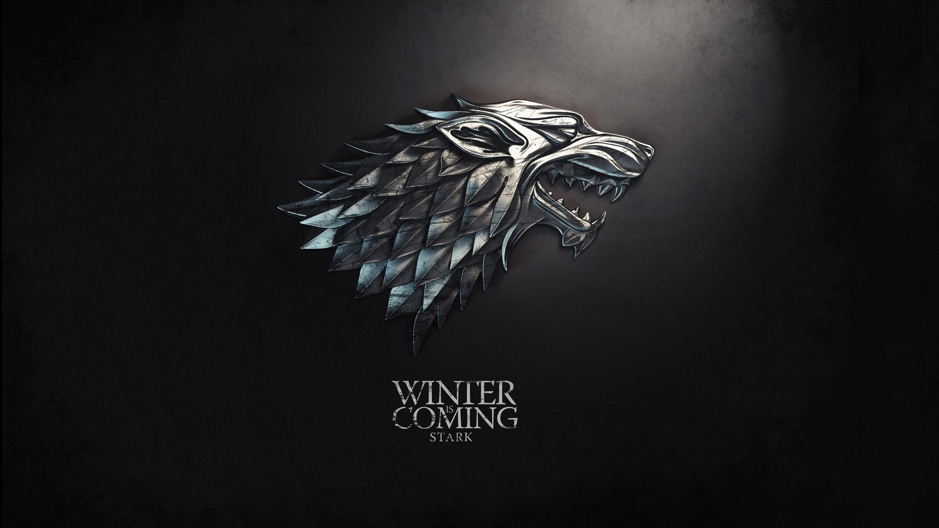 1920x1080 fantasy art Game of Thrones sigil TV series Winter is Coming direwolf HBO  George R. R. Martin