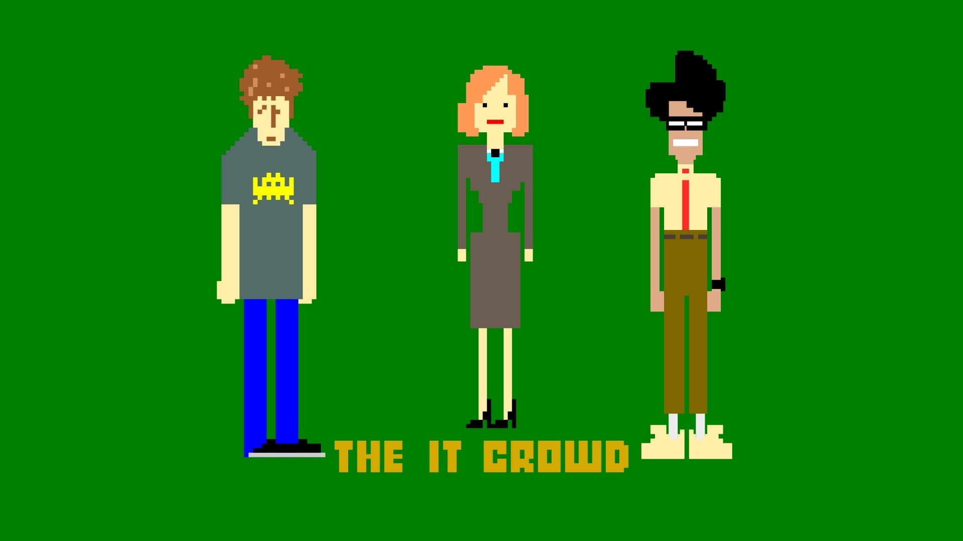 1920x1080 Preview wallpaper the it crowd, roy trenneman, maurice moss, jen barber