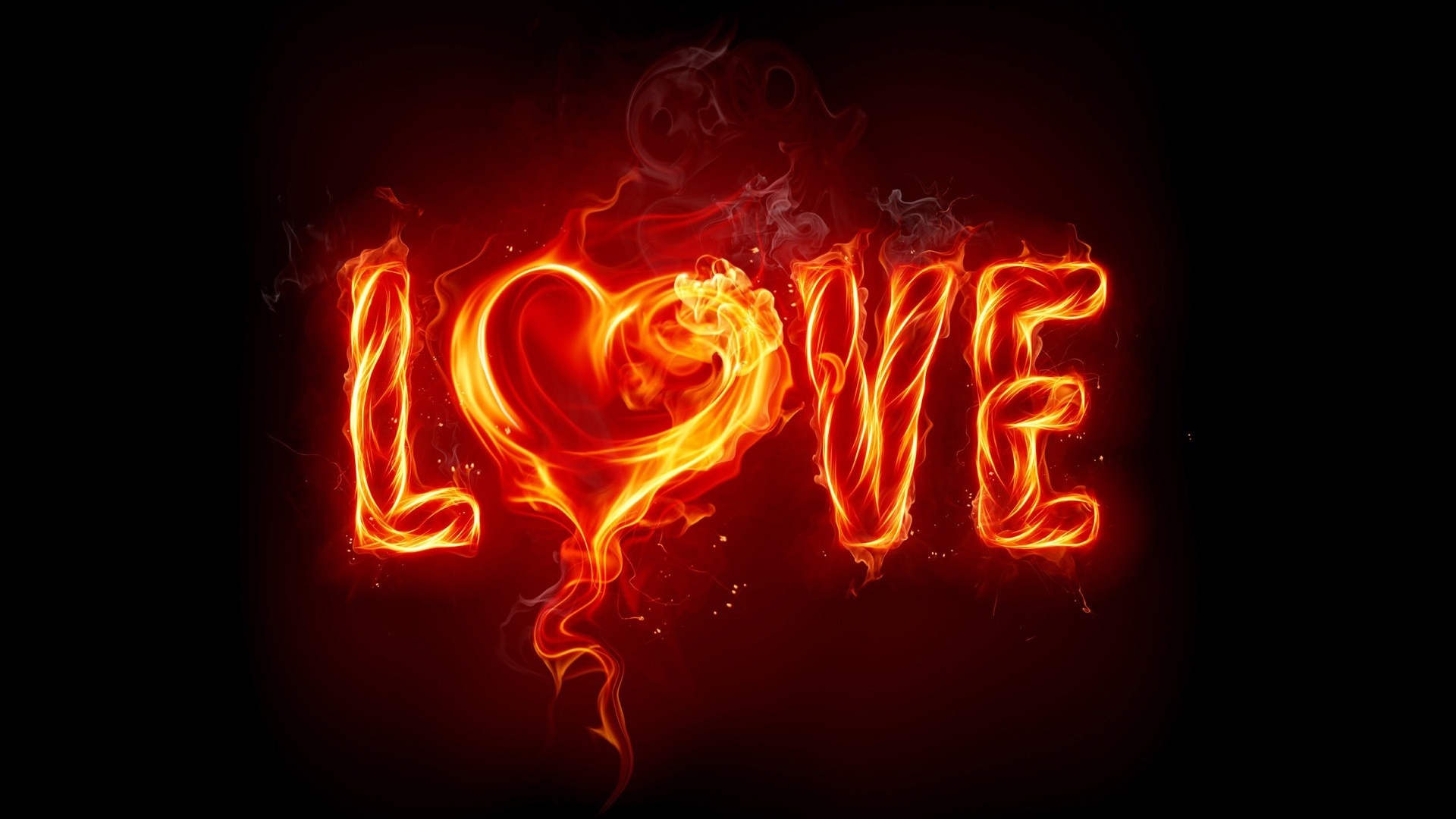 1920x1080 Hot Love  HD Image Abstract 3D