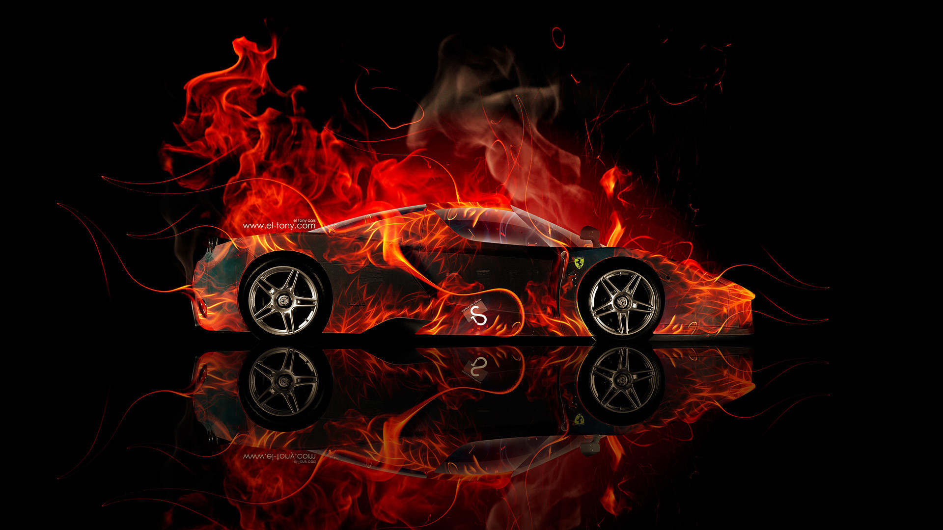 1920x1080 Ferrari-Enzo-Side-Fire-Abstract-Car-2014-HD-