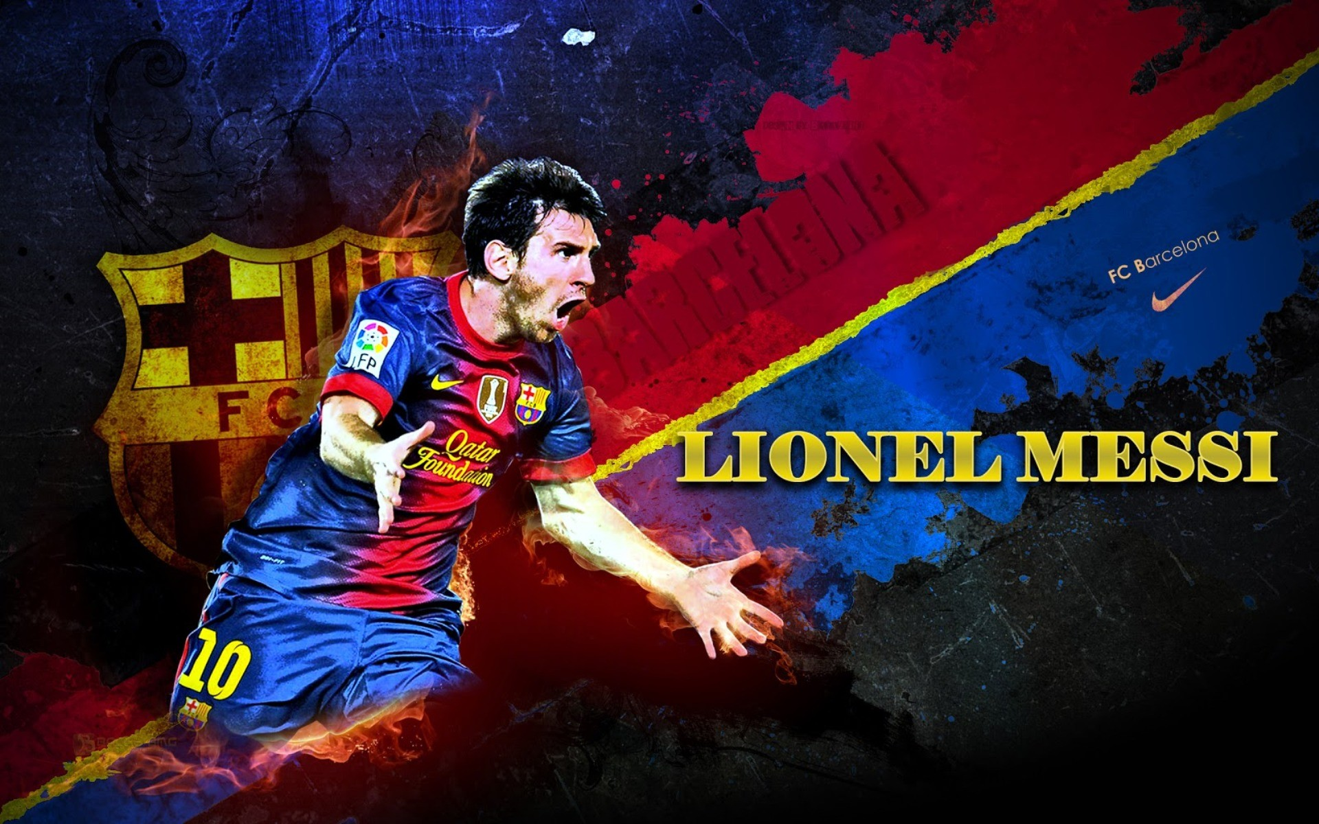 1920x1200 Attitude Girl: Lionel Messi Football Player Latest HD Wallpapers
