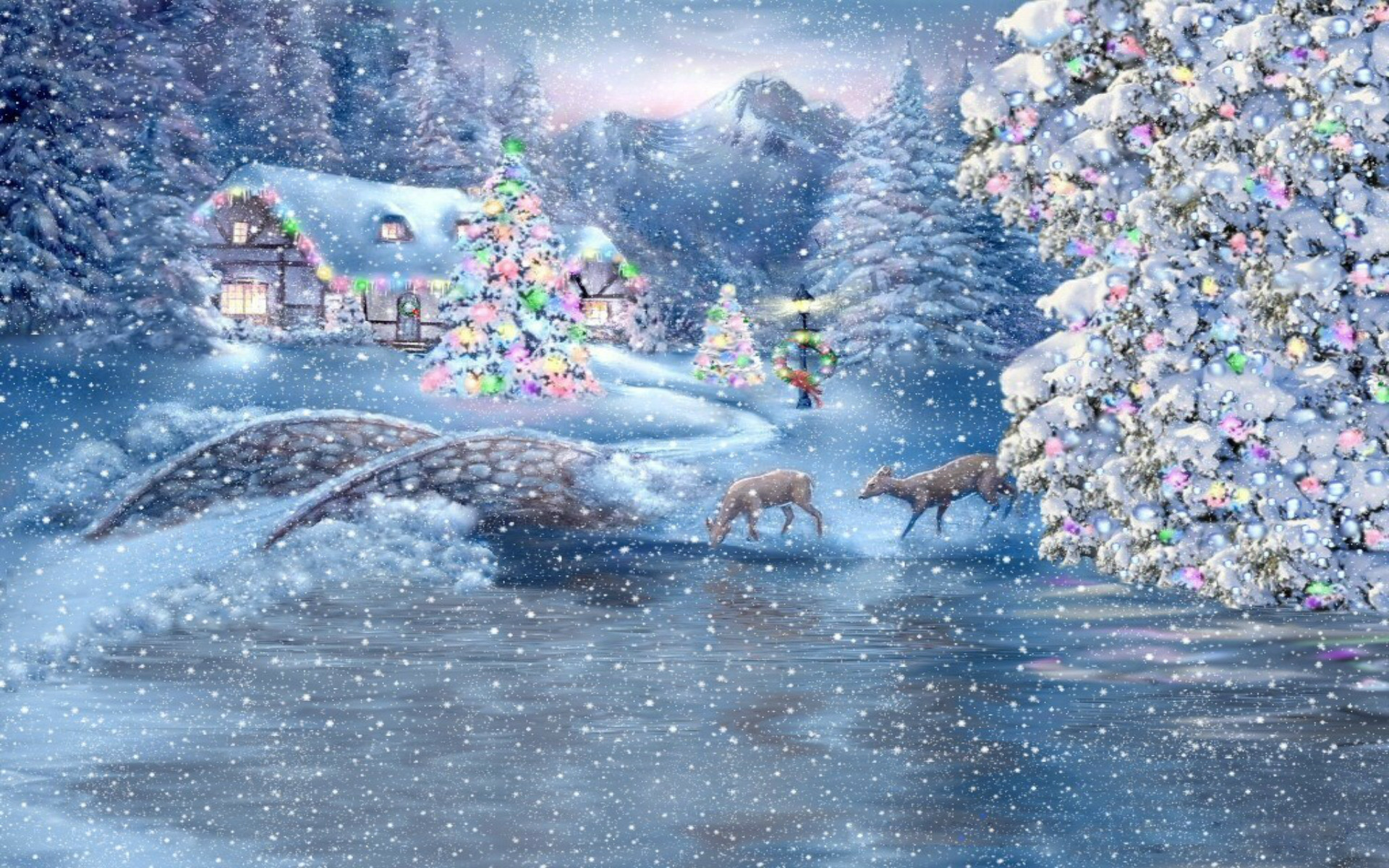 Beautiful Christmas Wallpapers 62 Images