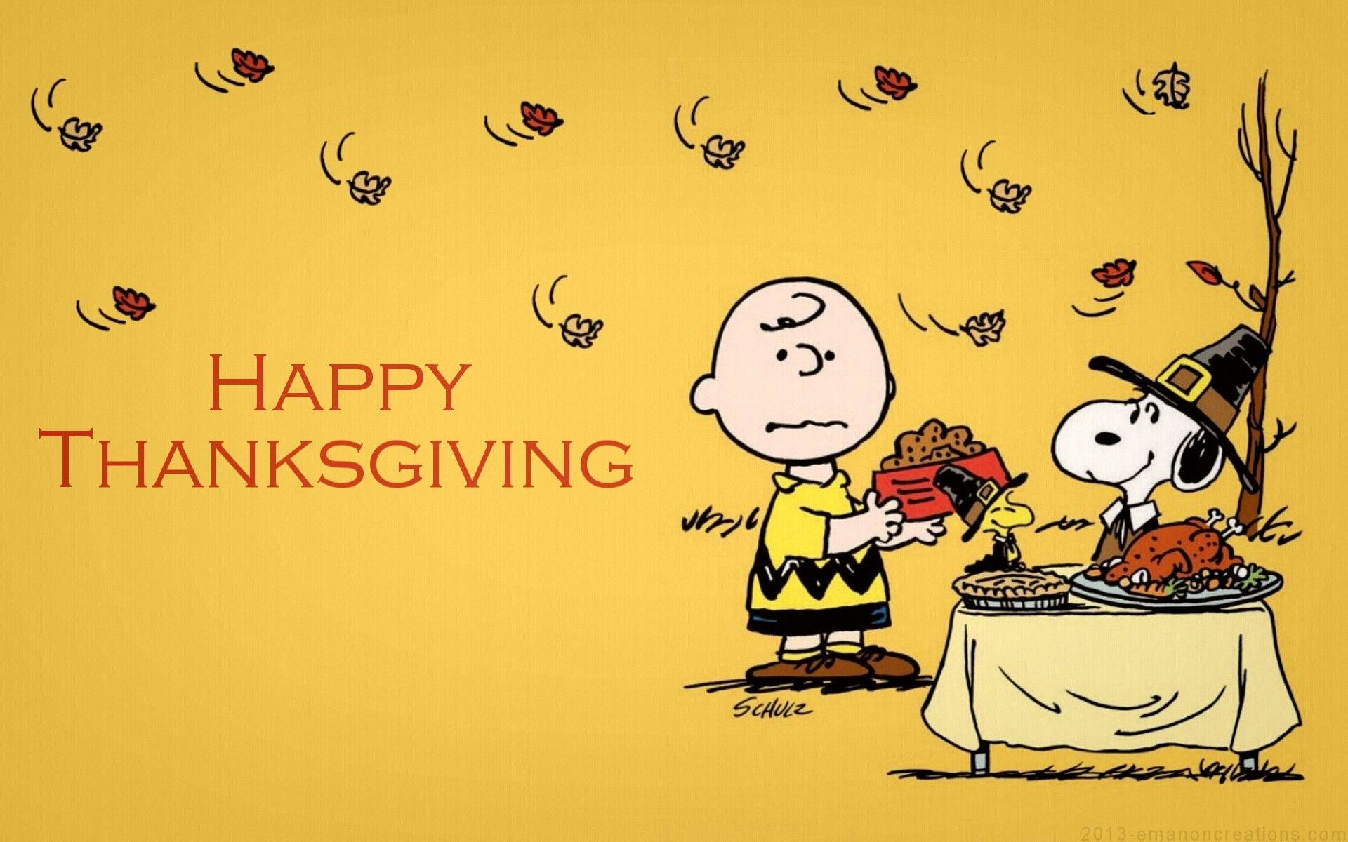 1920x1200 Snoopy Thanksgiving Wallpaper - Viewing Gallery