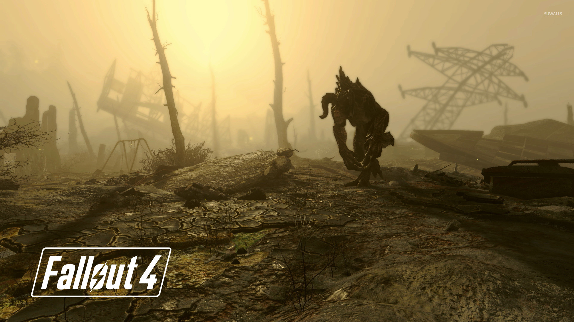 1920x1080 Deathclaw in Fallout 4 wallpaper  jpg