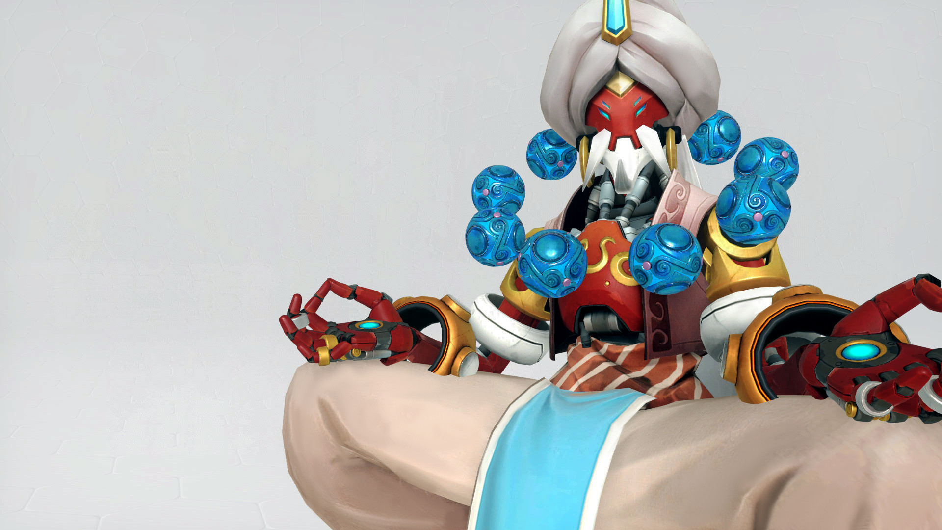1920x1080 ... Overwatch-Zenyatta Wallpaper  by bedobaho