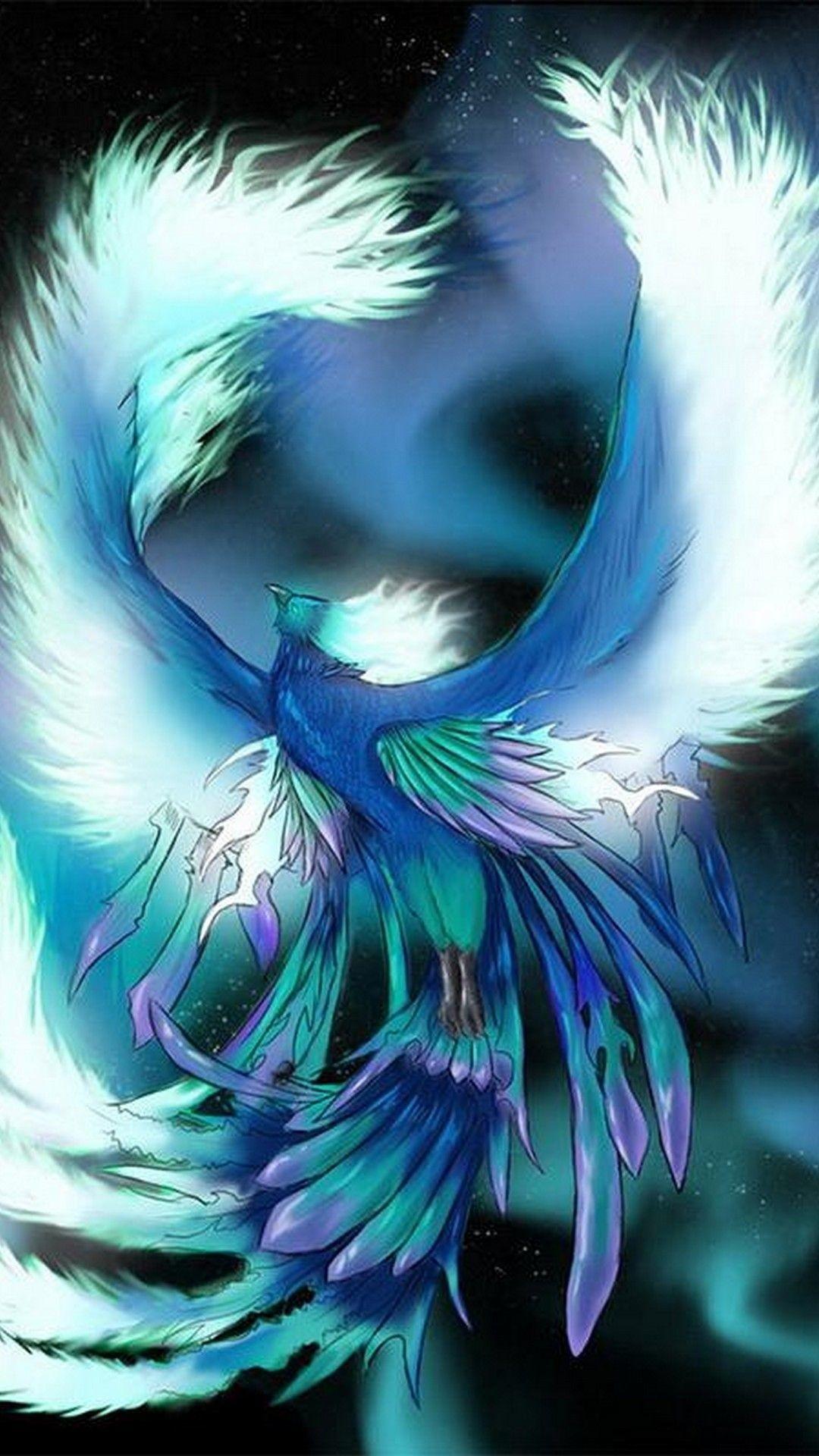 Blue Phoenix Wallpaper 76 Images