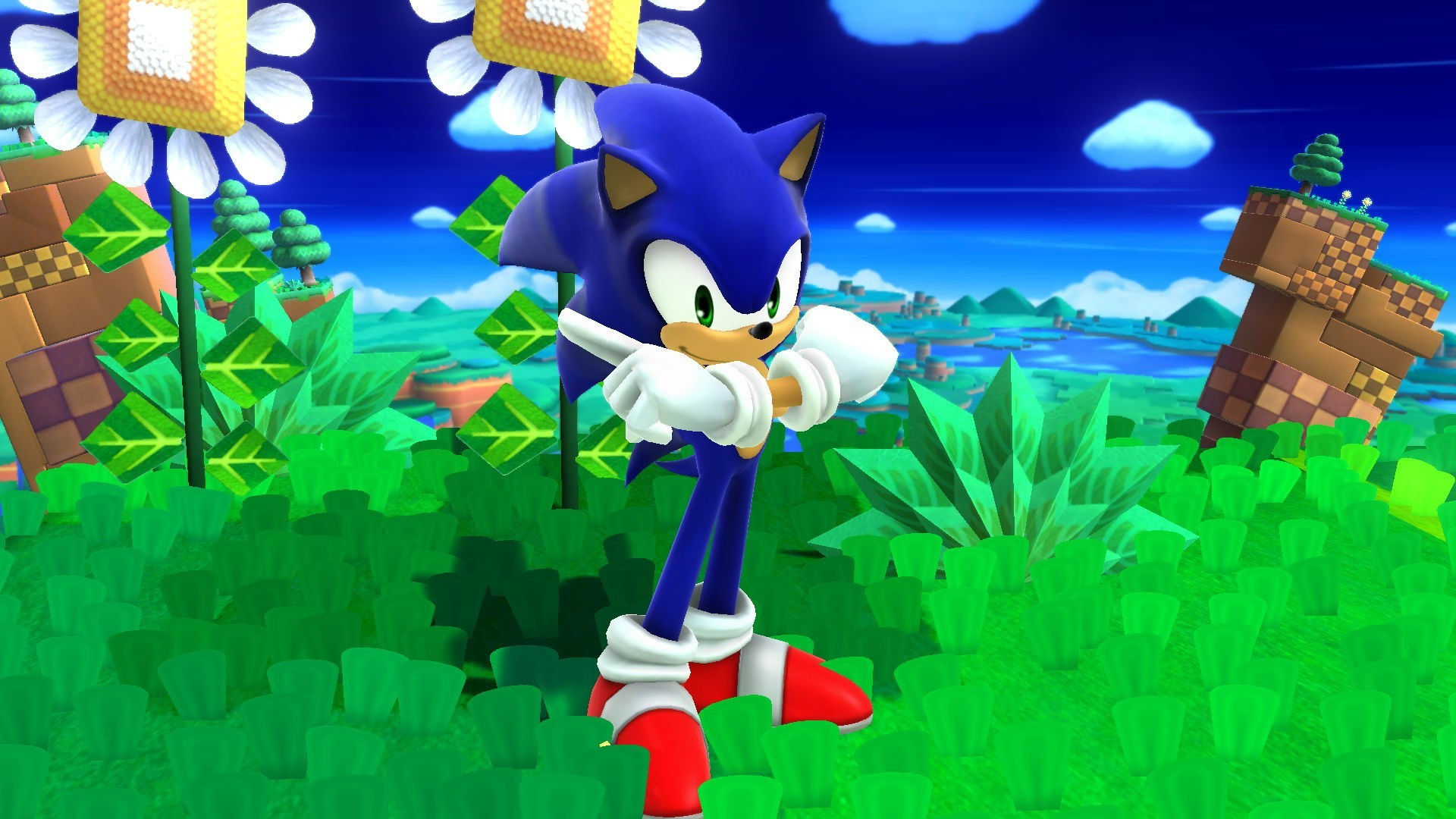 Sonic Adventure 2 Sonic Vs Shadow Green Forest