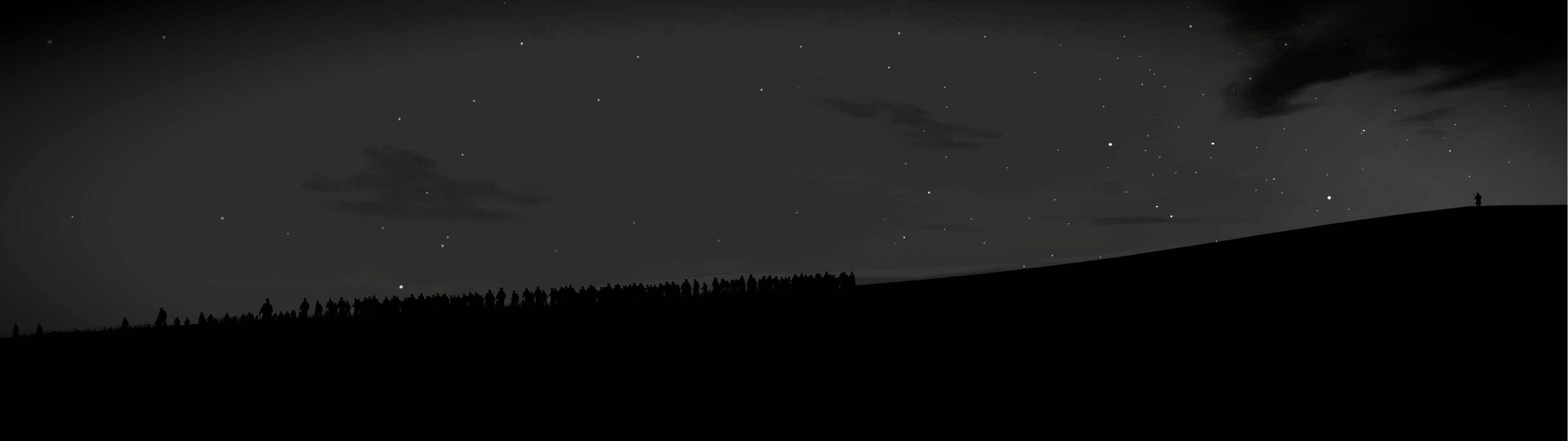 3840x1080 What do you think of the DayZ dual monitor wallpaper I put together today?