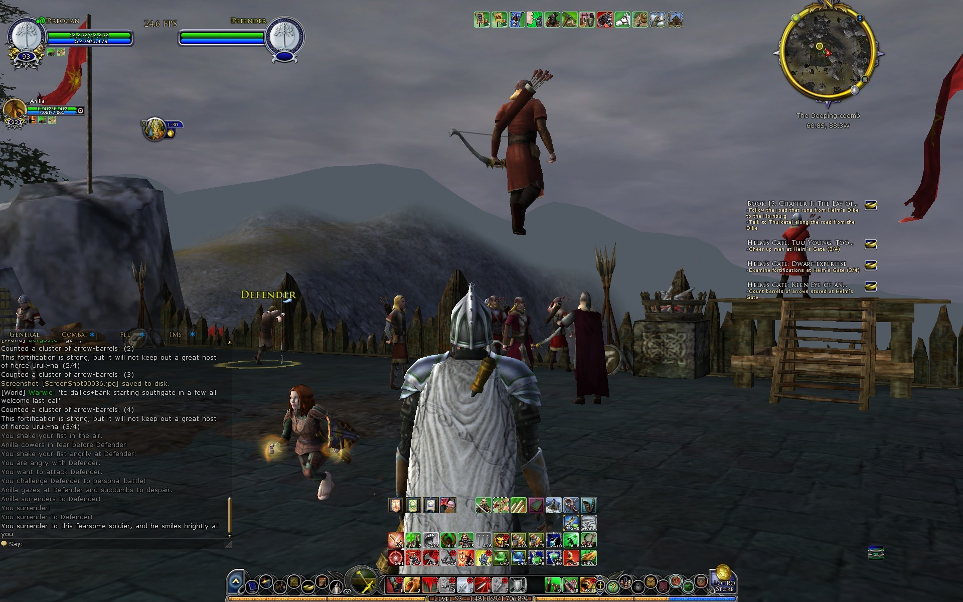 1920x1200 LotRO on Surface 3 Round 2