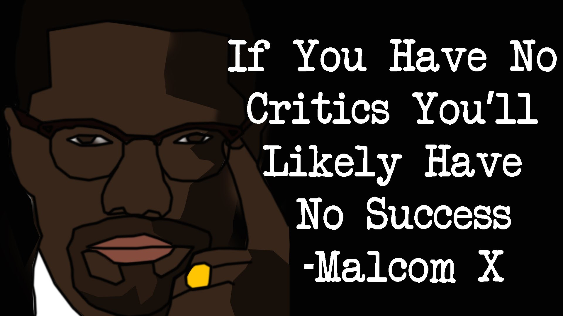 1920x1080 Speedart PHOTOSHOP - Malcolm X Wallpaper
