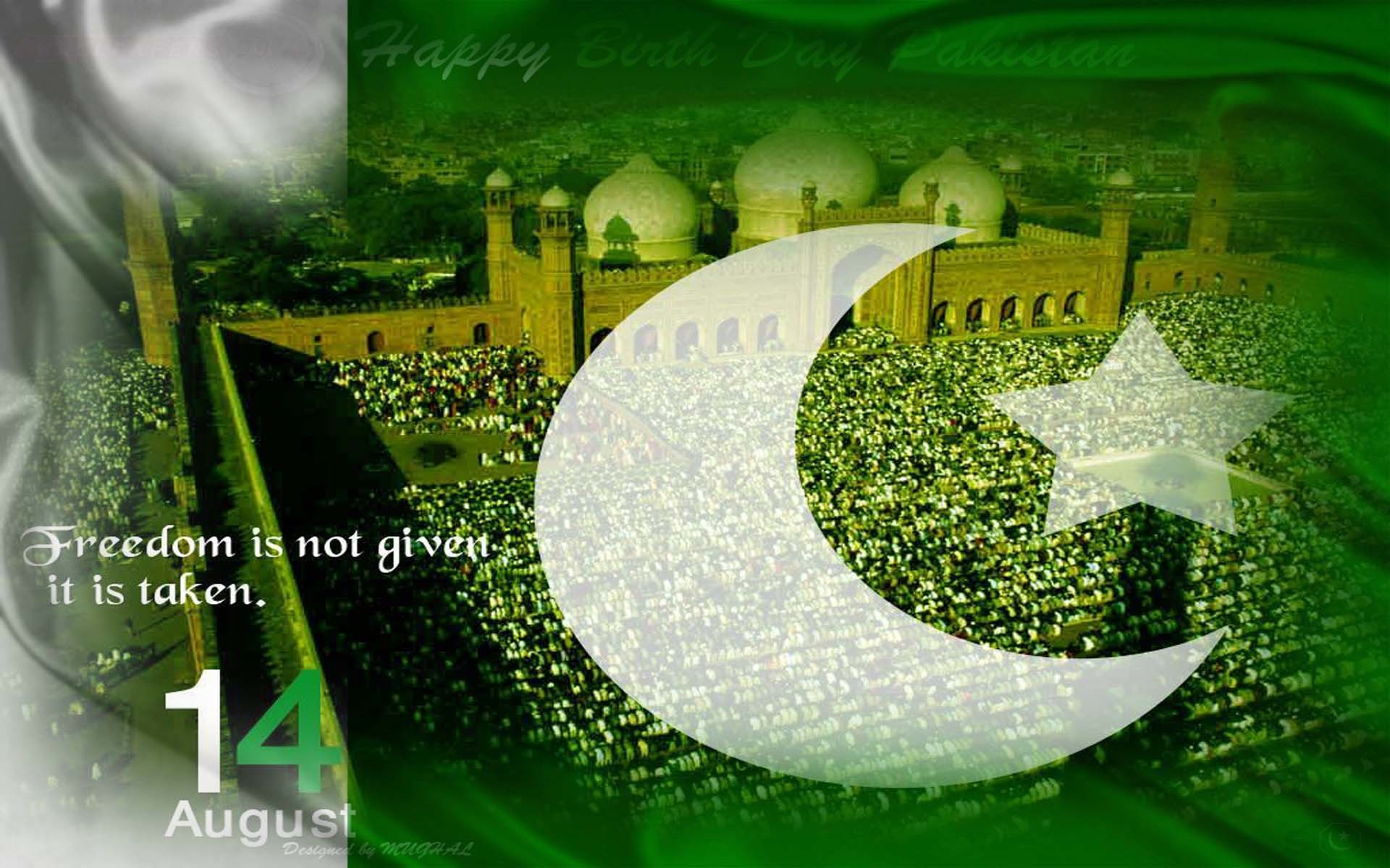 1920x1200 Independence Day of Pakistan 2014 - HD Wallpapers OnlyHD .