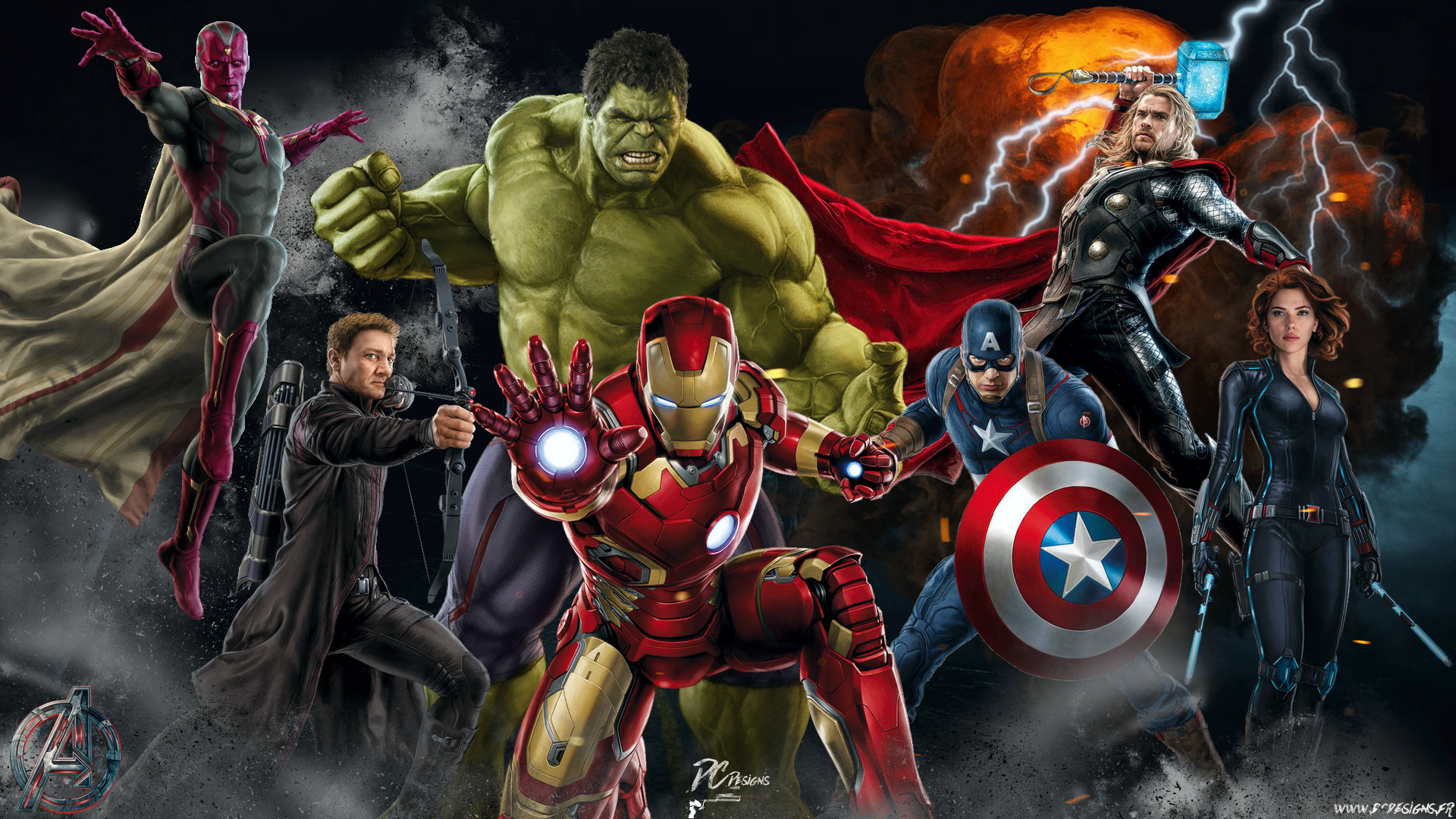 1920x1080 Avengers Age Of Ultron Wallpaper By Sachso74 On DeviantArt