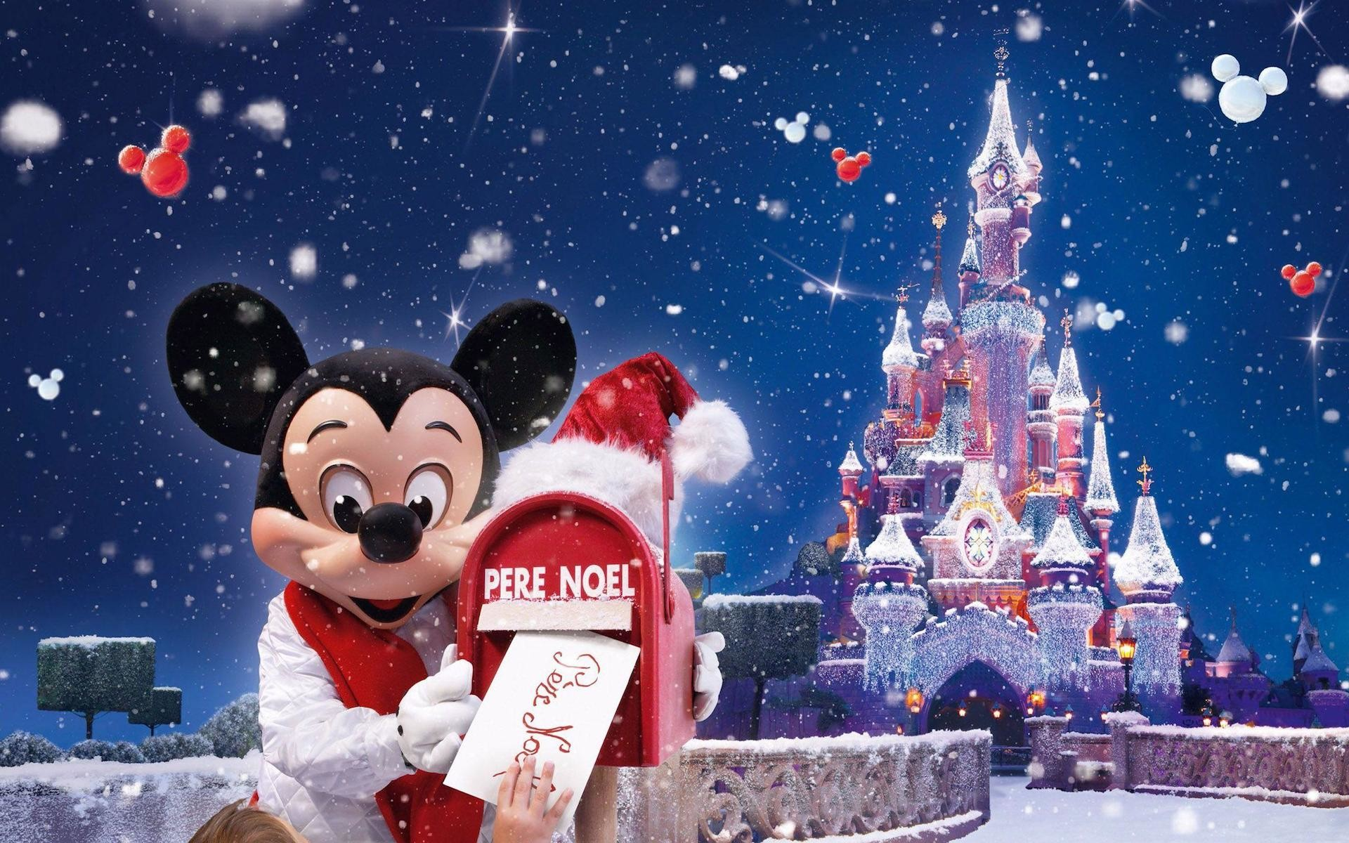1920x1200 Disney-Mickey-Mouse-Christmas-HD-Wallpaper
