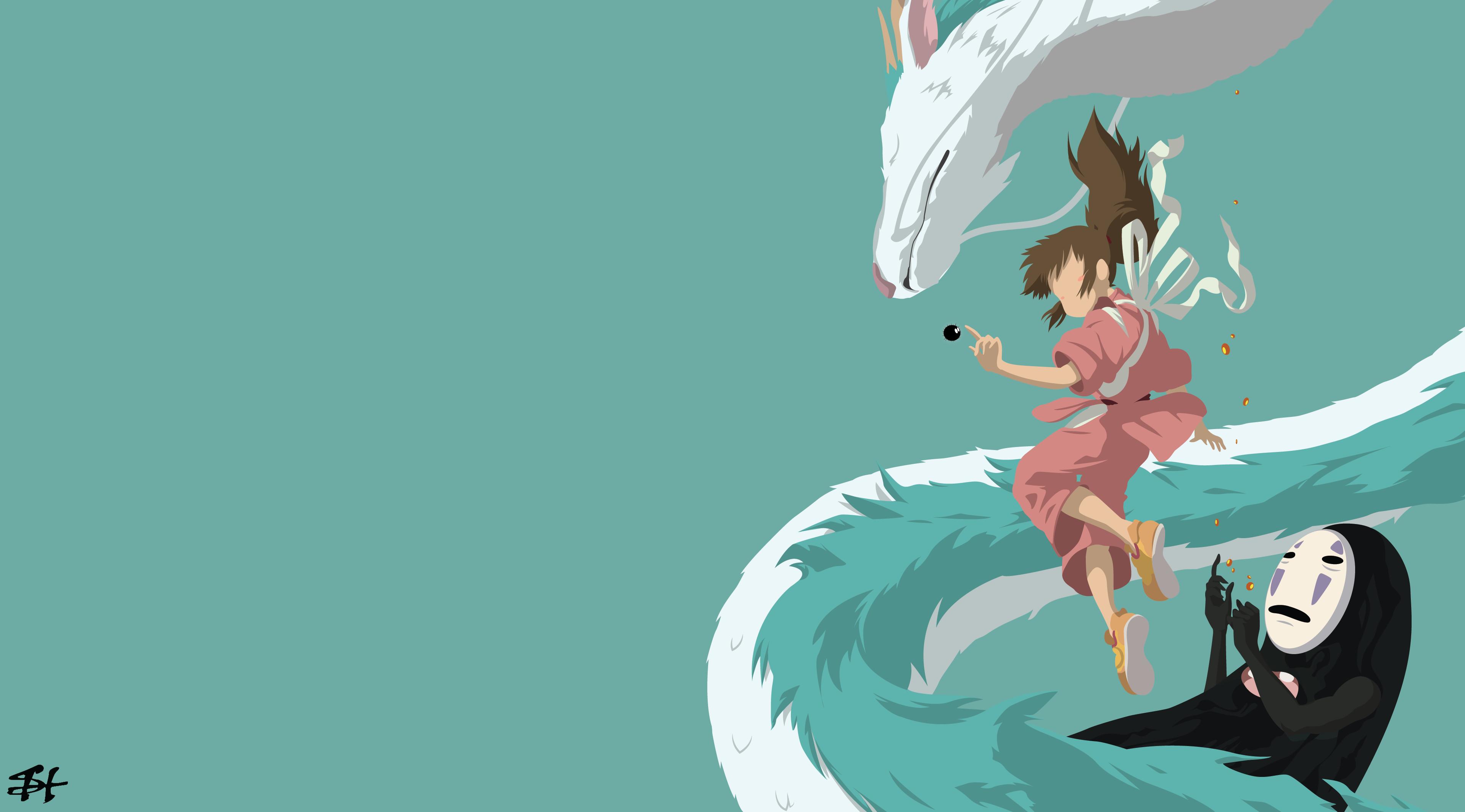 1280x2053 Spirited AwayStudio GhibliScenery