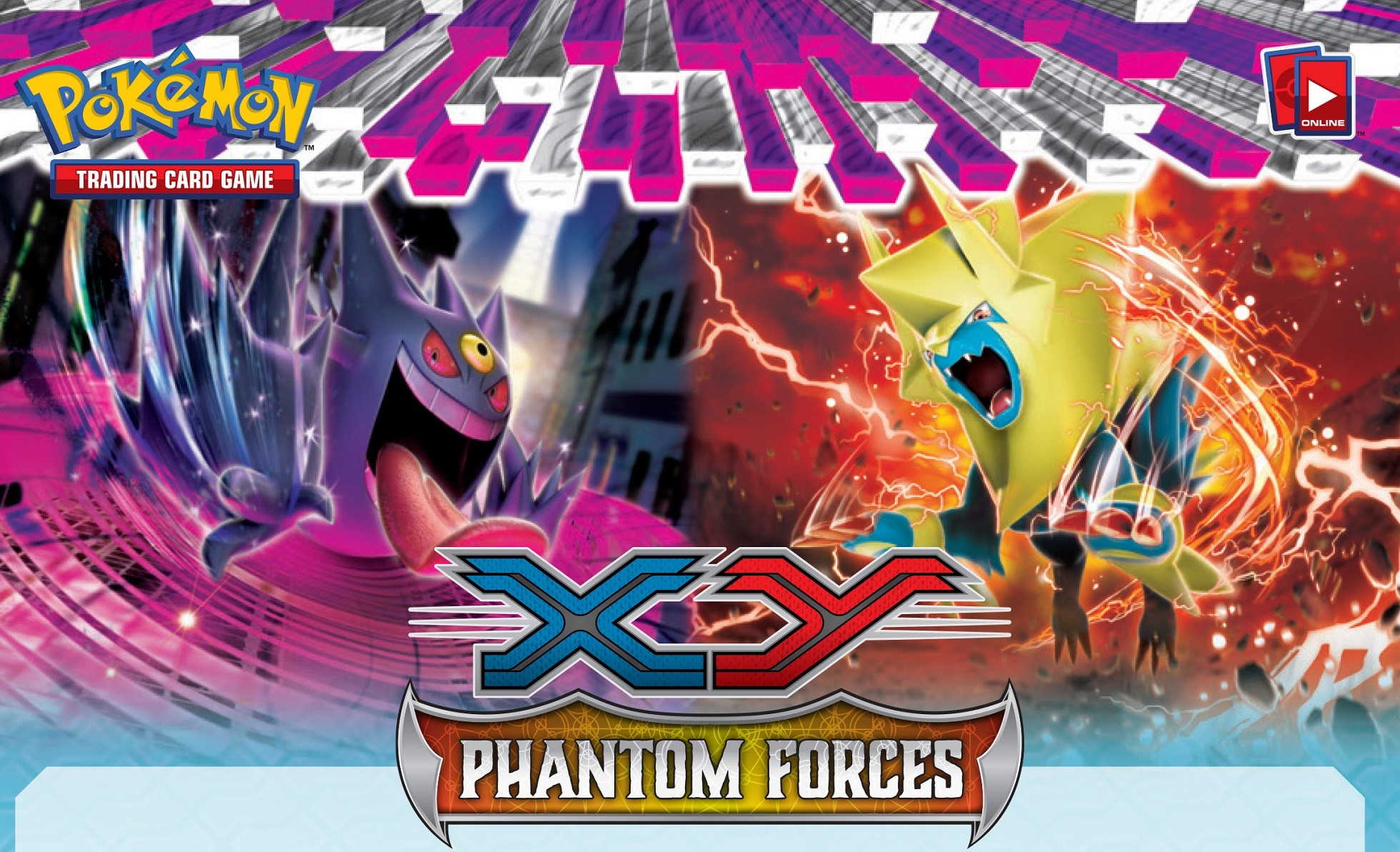 1960x1193 Pokemon XY TCG Phantom Forces Wallpaper