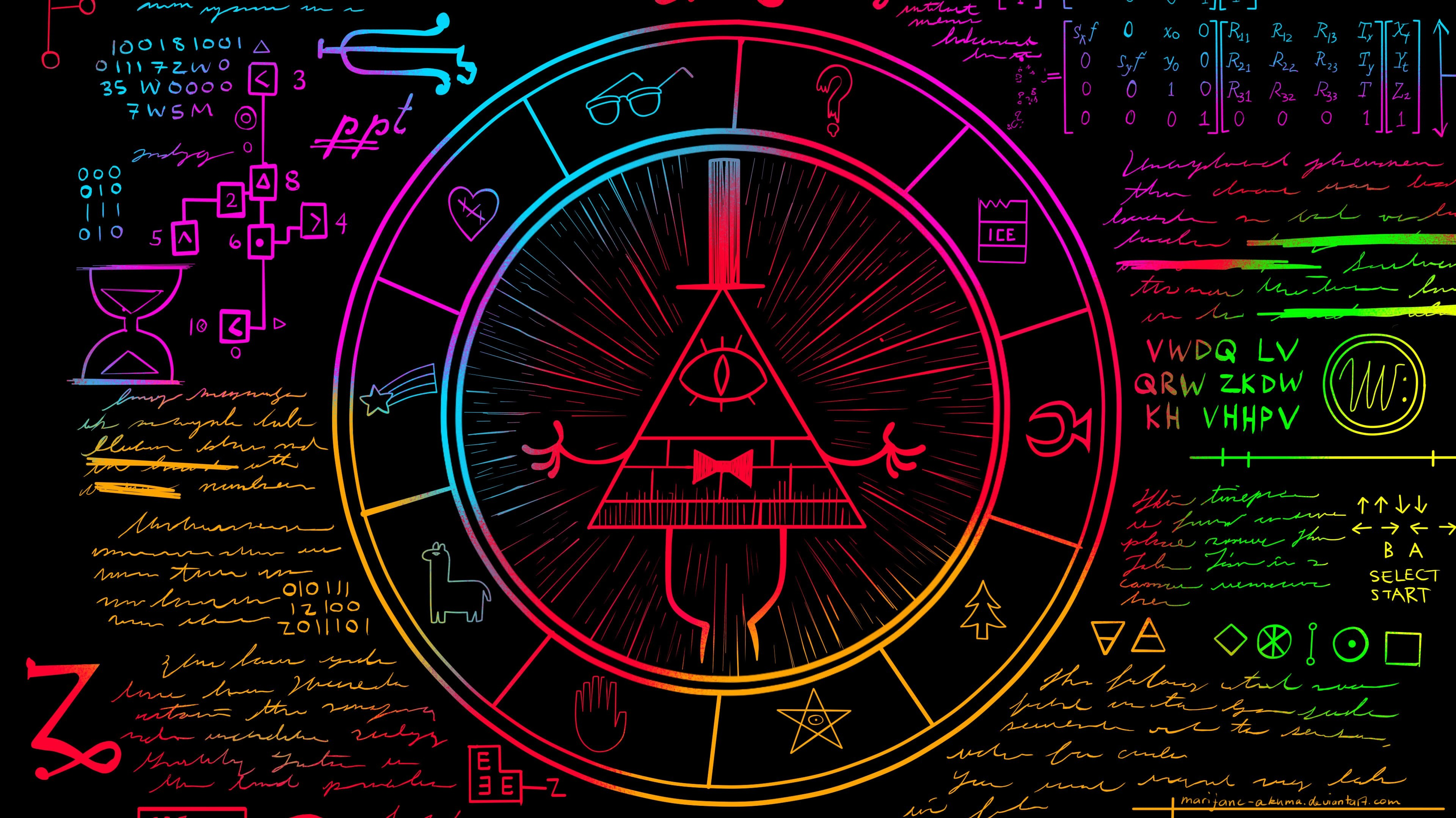 Gravity Falls Bill Cipher Wallpaper 80 Images