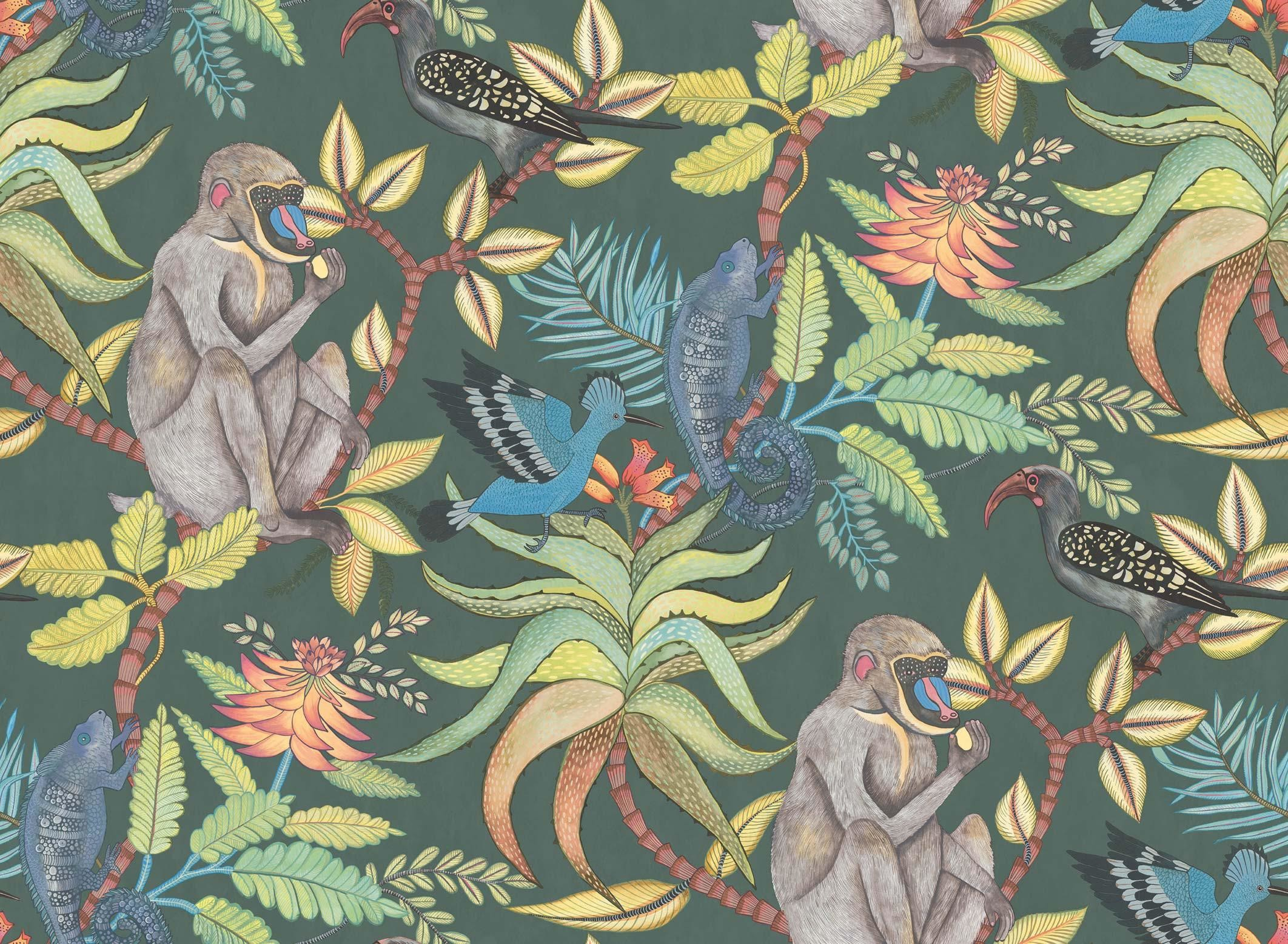 2124x1556 Cole & Son Savuti Wallpaper 109/1006