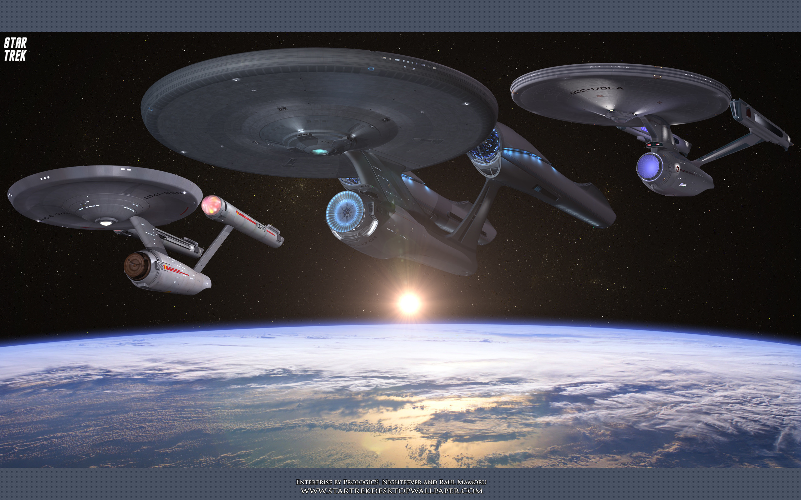 2560x1600 USS Enterprise Original Series, The Motion Picture and J.J. Abrams' USS  Enterprise. Free