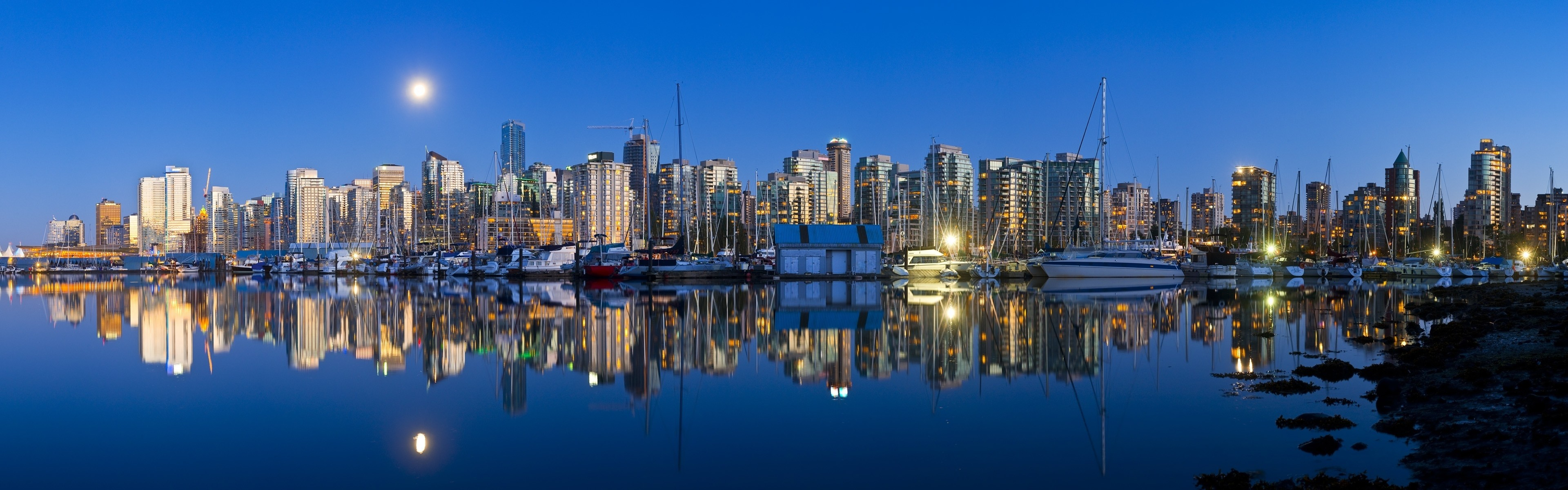 3840x1200 Vancouver HD Wallpaper | Hintergrund |  | ID:396622 - Wallpaper  Abyss