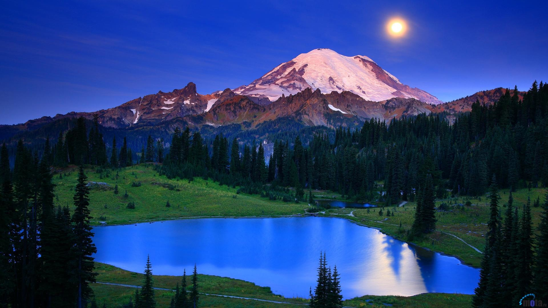 1920x1080 Mount Rainier Wallpaper 10 - 1920 X 1080