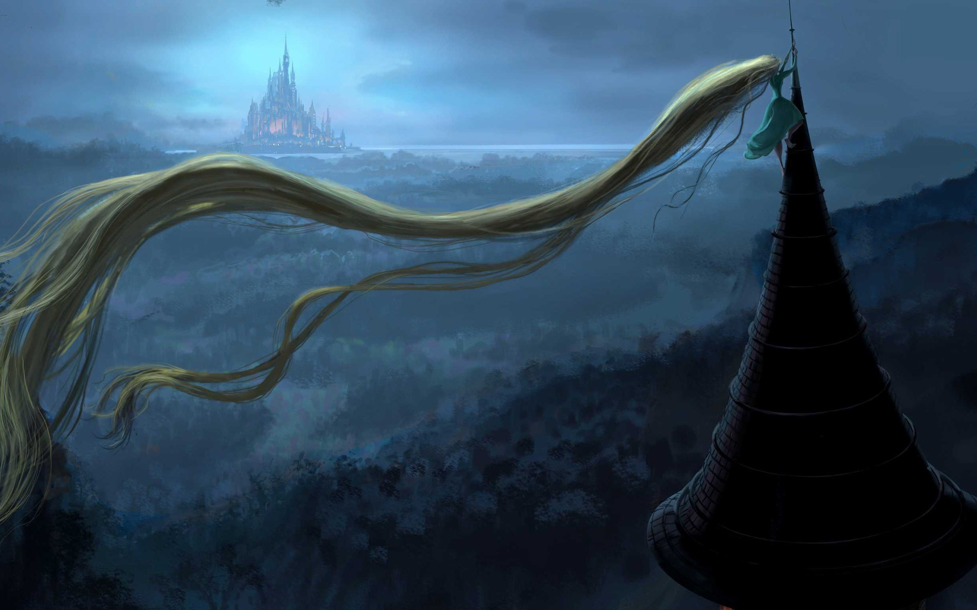1920x1200 HD Wallpaper And Background Photos Of Disney Princess Rapunzel For Fans Tangled Images