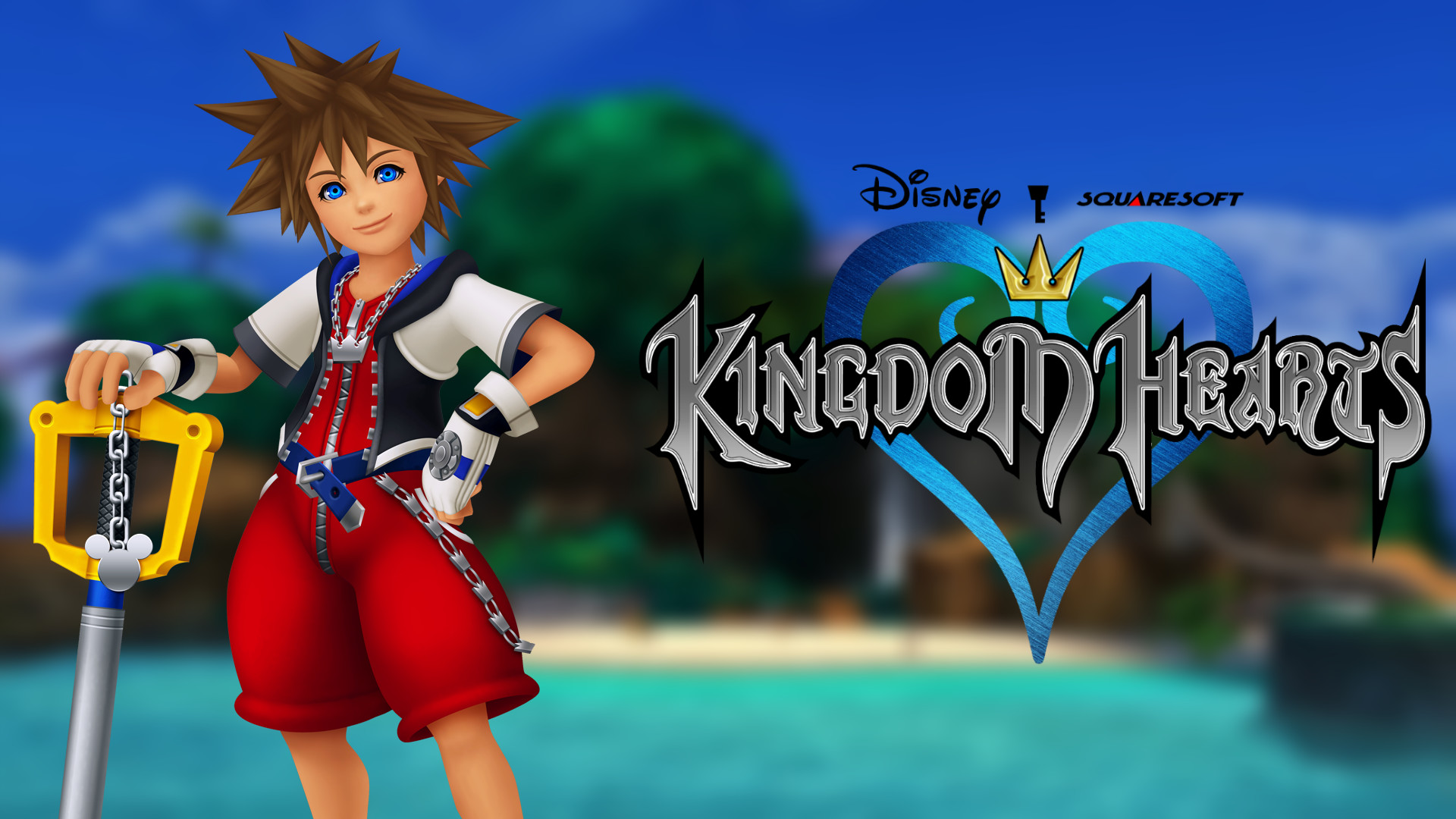 1920x1080 ... Kingdom Hearts Wallpaper - KH1 Sora by TheWolfGalaxy