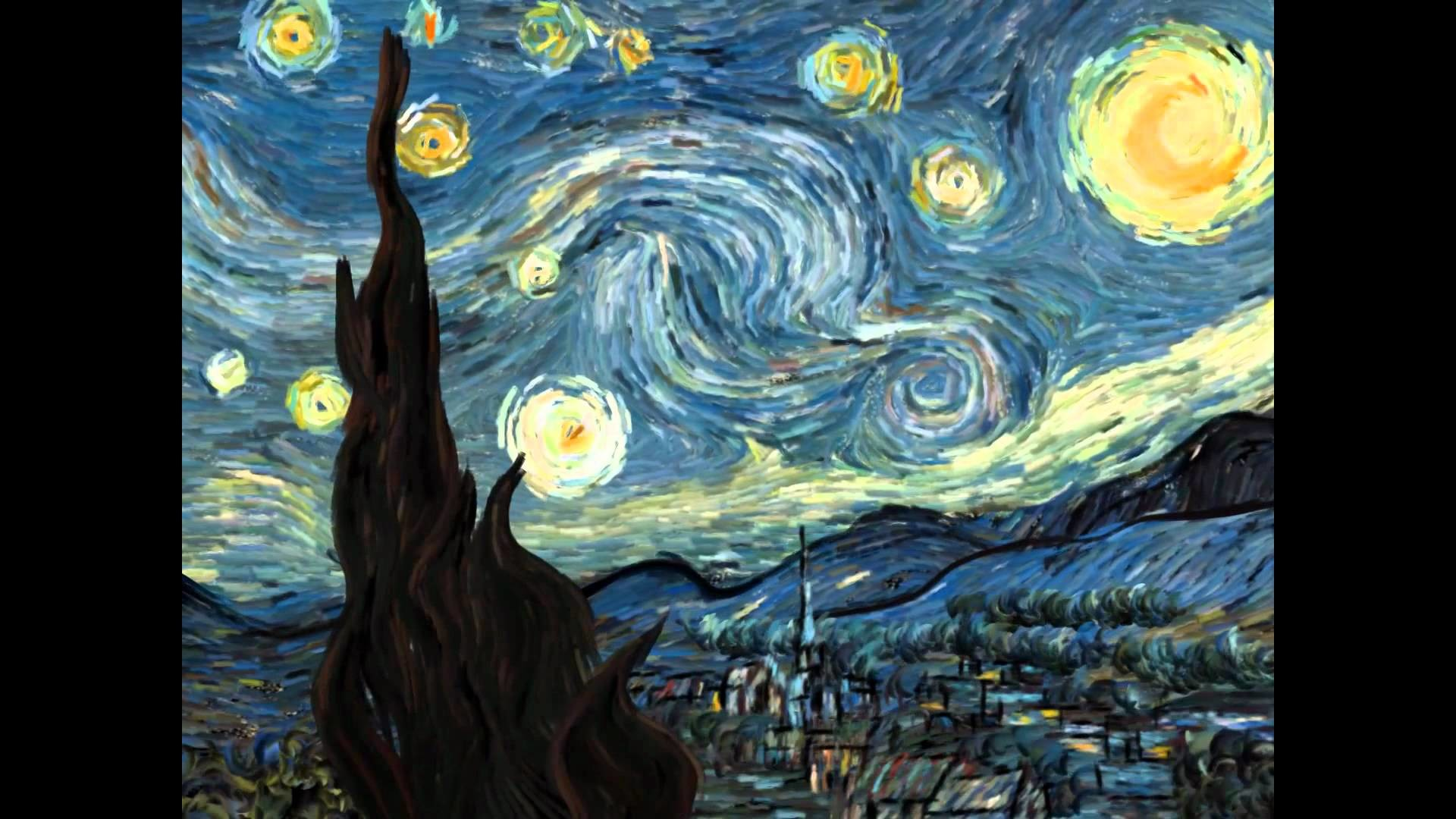 Starry Night Over The Rhone Wallpaper 46 Images