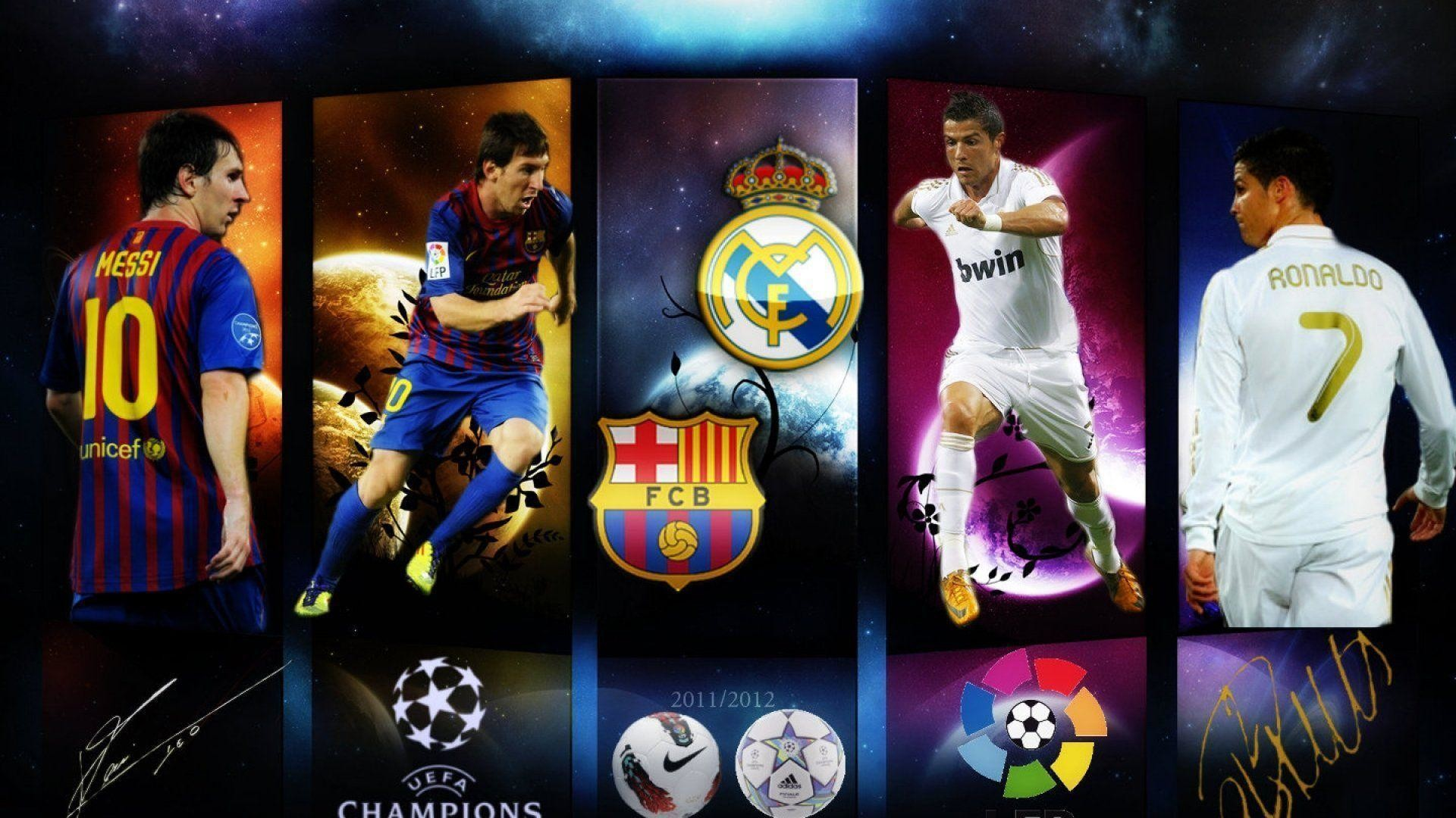 1920x1080 Lionel Messi Vs Cristiano Ronaldo Wallpaper » WallDevil - Best .