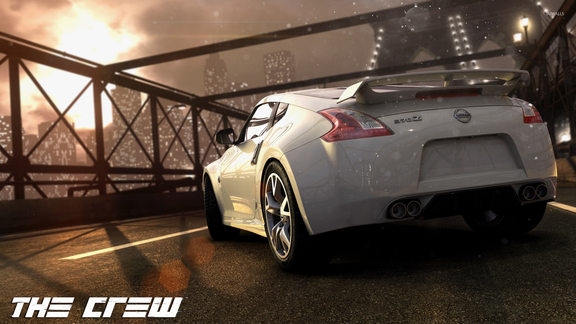 1920x1080 Nissan 370Z - The Crew wallpaper  jpg