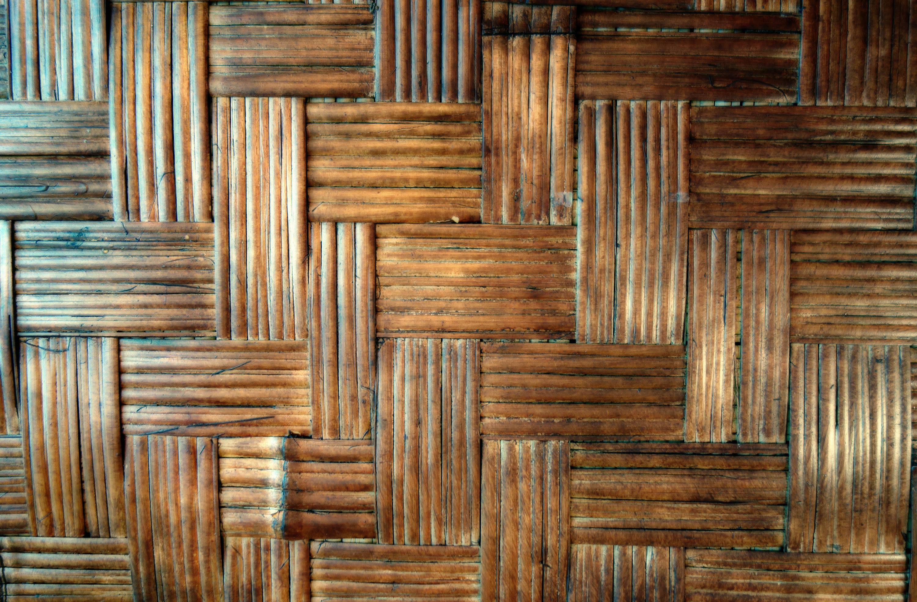 3000x1970 ... another woven bamboo wooden floor background image