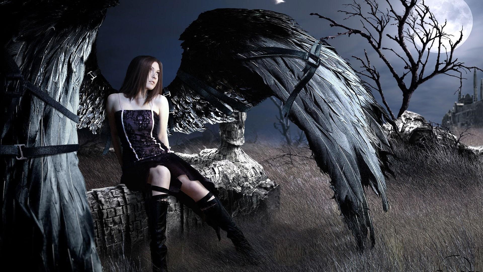 1920x1200 Gothic Girl 896753