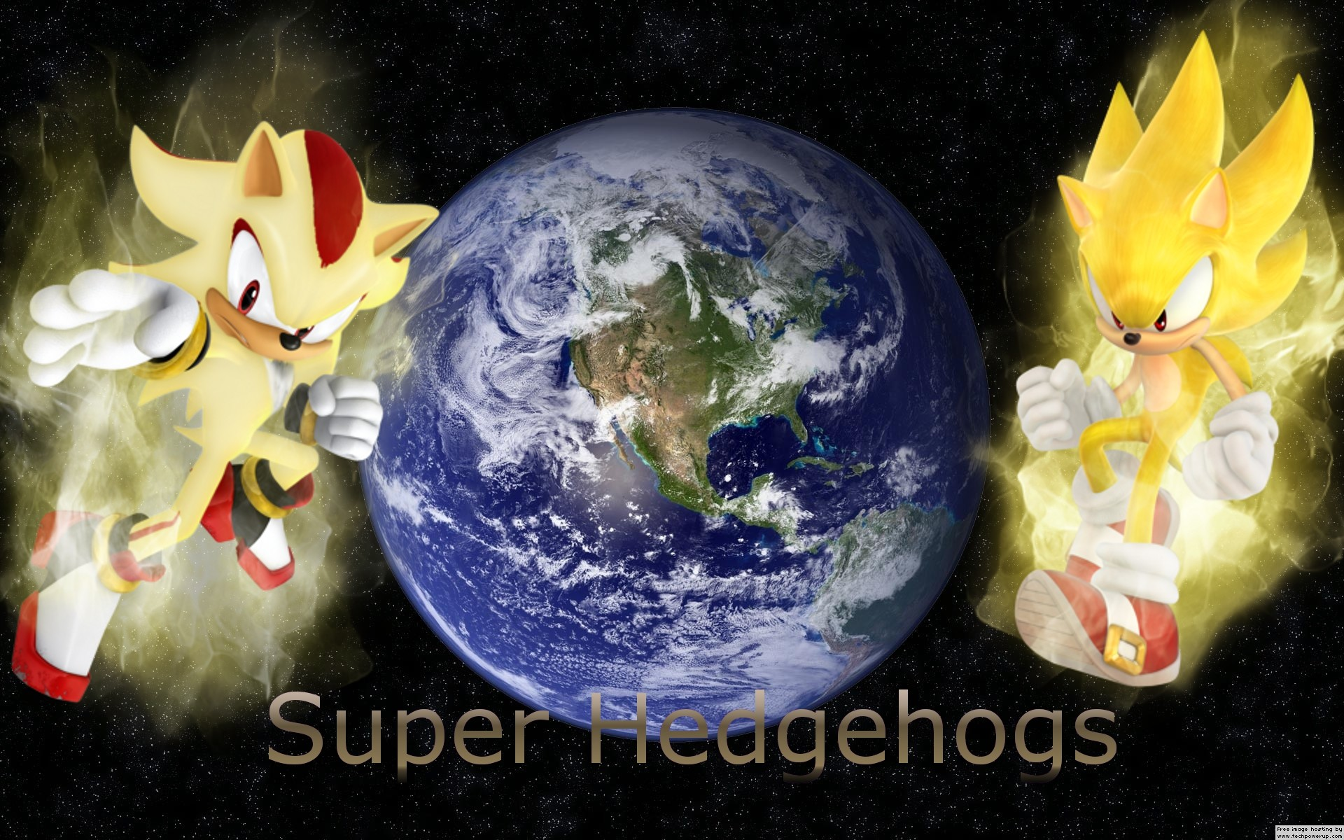 1920x1200 Related Searches for super sonic super shadow super silverSuper Sonic And Super  Shadow And Super Silver