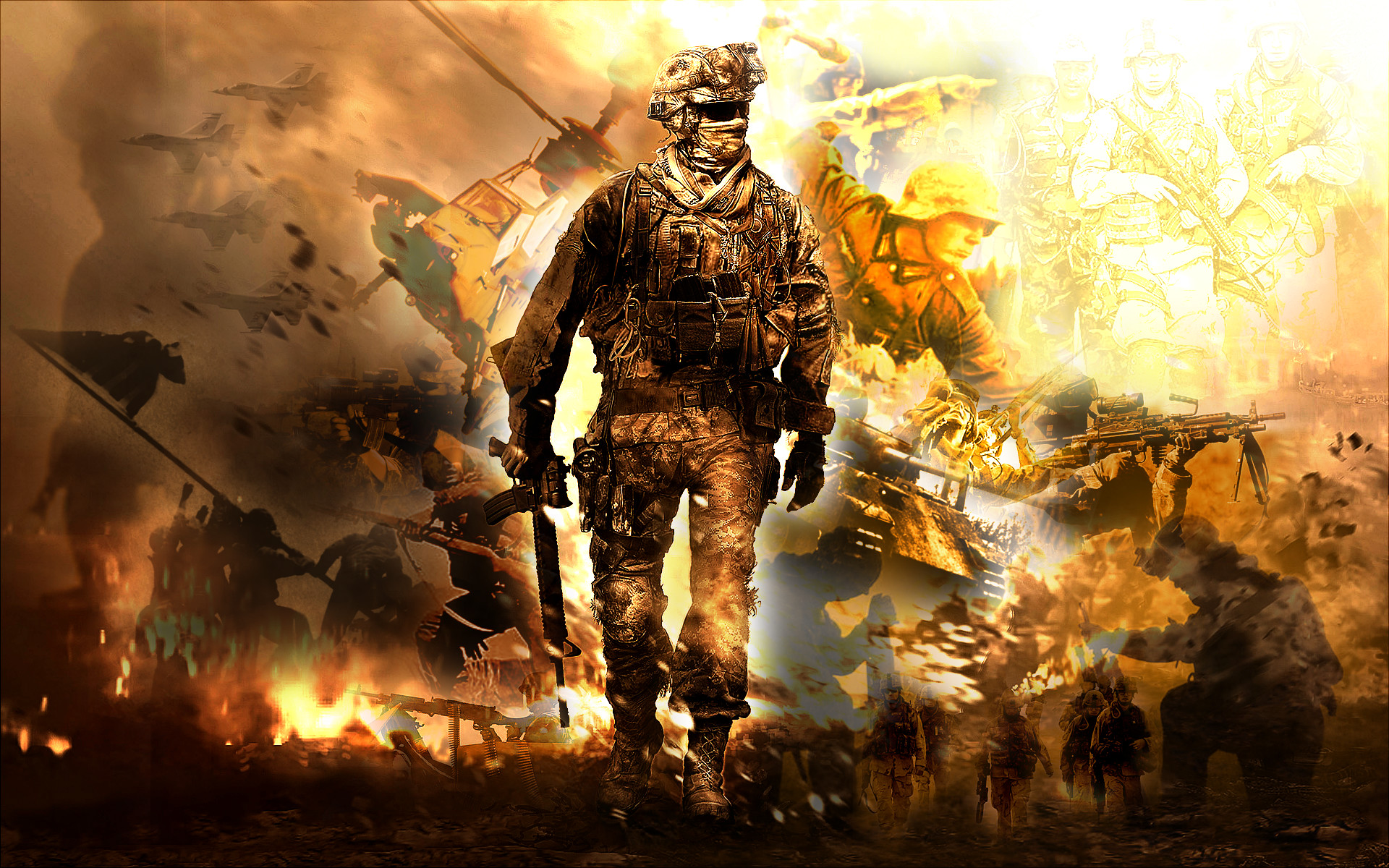 1920x1200 Badass War Wallpaper Full Hd On Wallpaper Hd