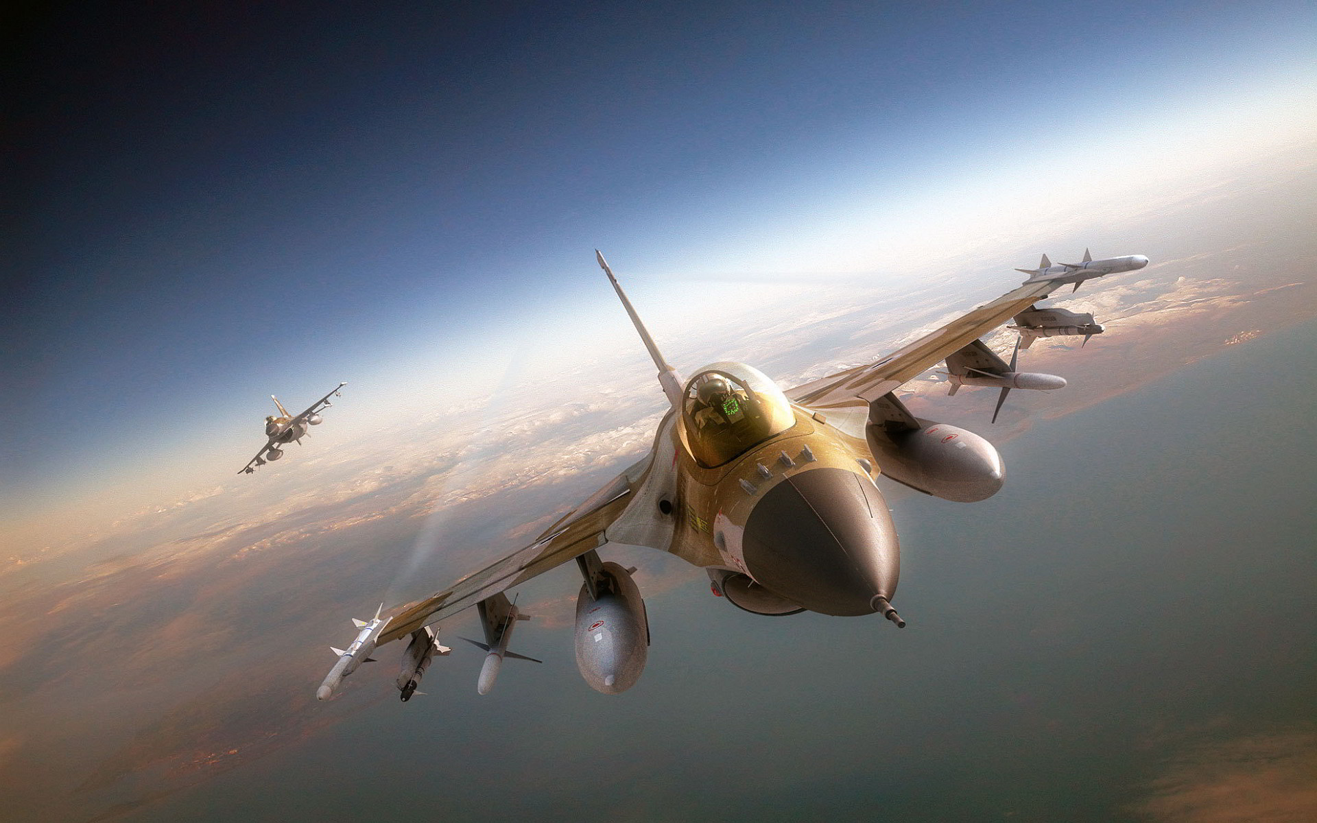 1920x1200 Cool F16 Wallpaper