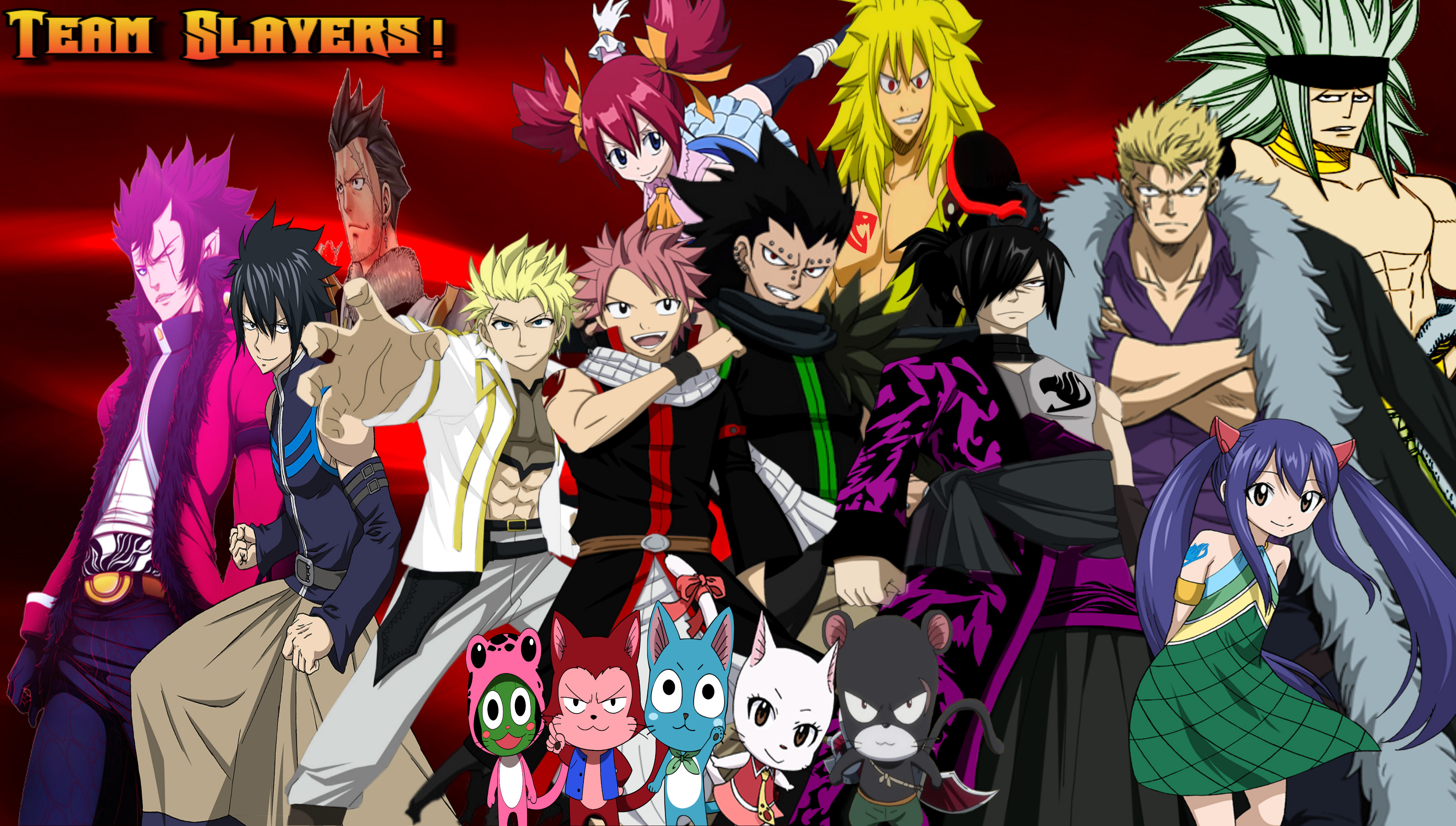 Fairy Tail Group Wallpaper 73 Images