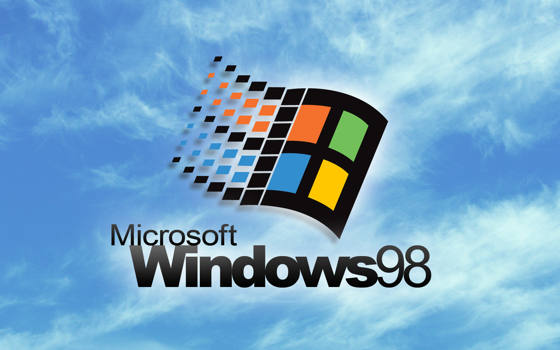 1920x1200 Windows 98 Loading Screen Wallpaper