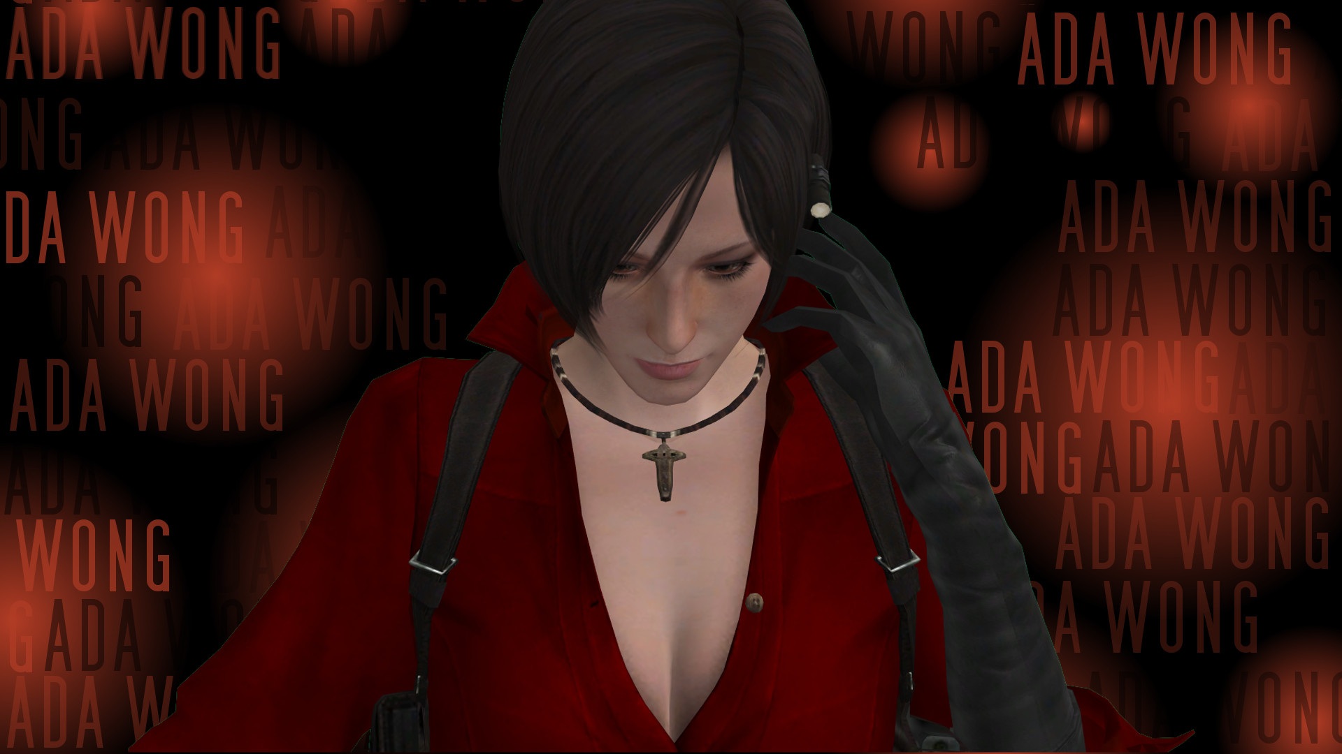 1920x1080 ... Wallpaper - Ada Wong - Resident Evil 6 by leo77940