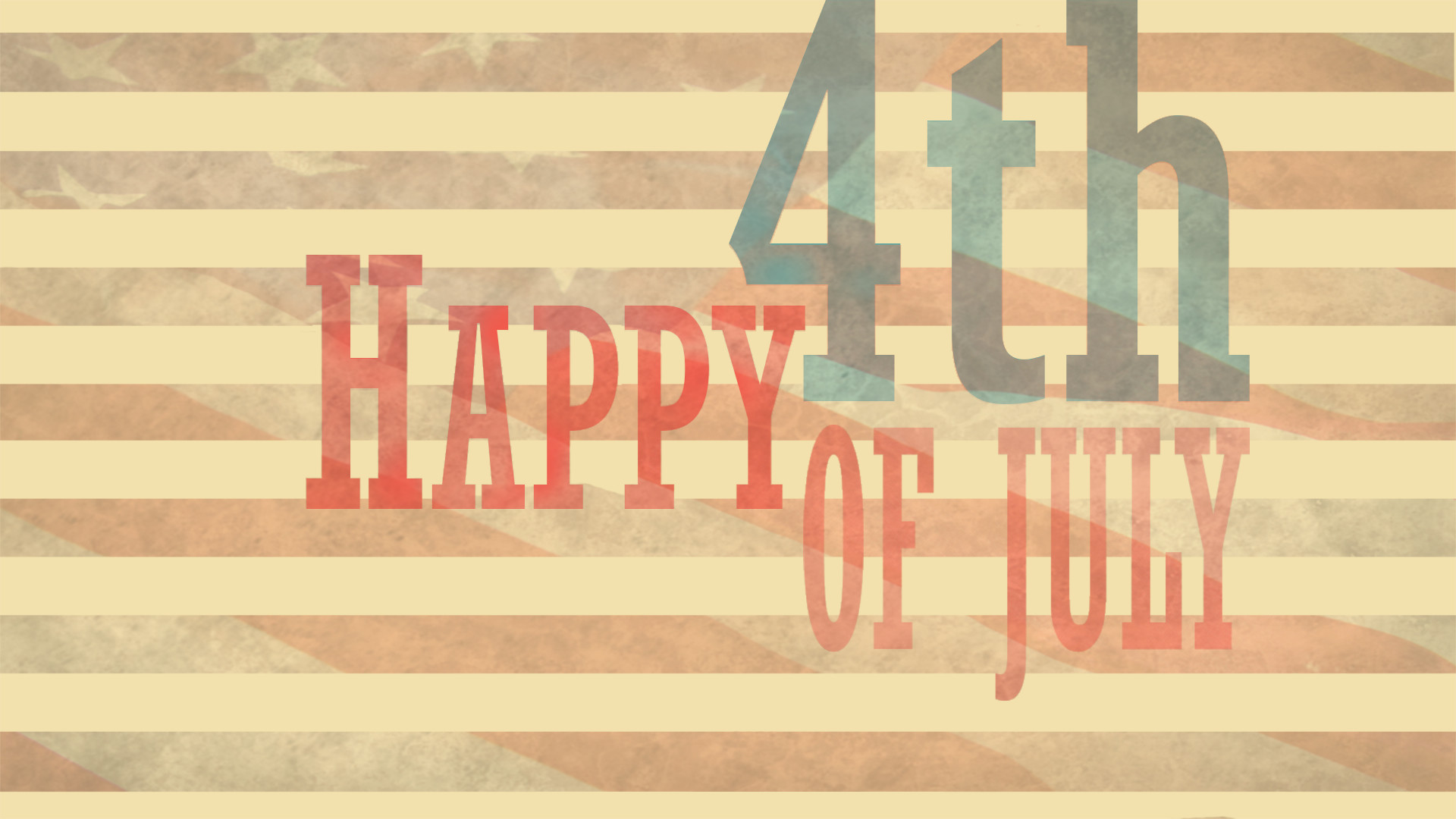 1920x1080 HD 4th Of July Image.