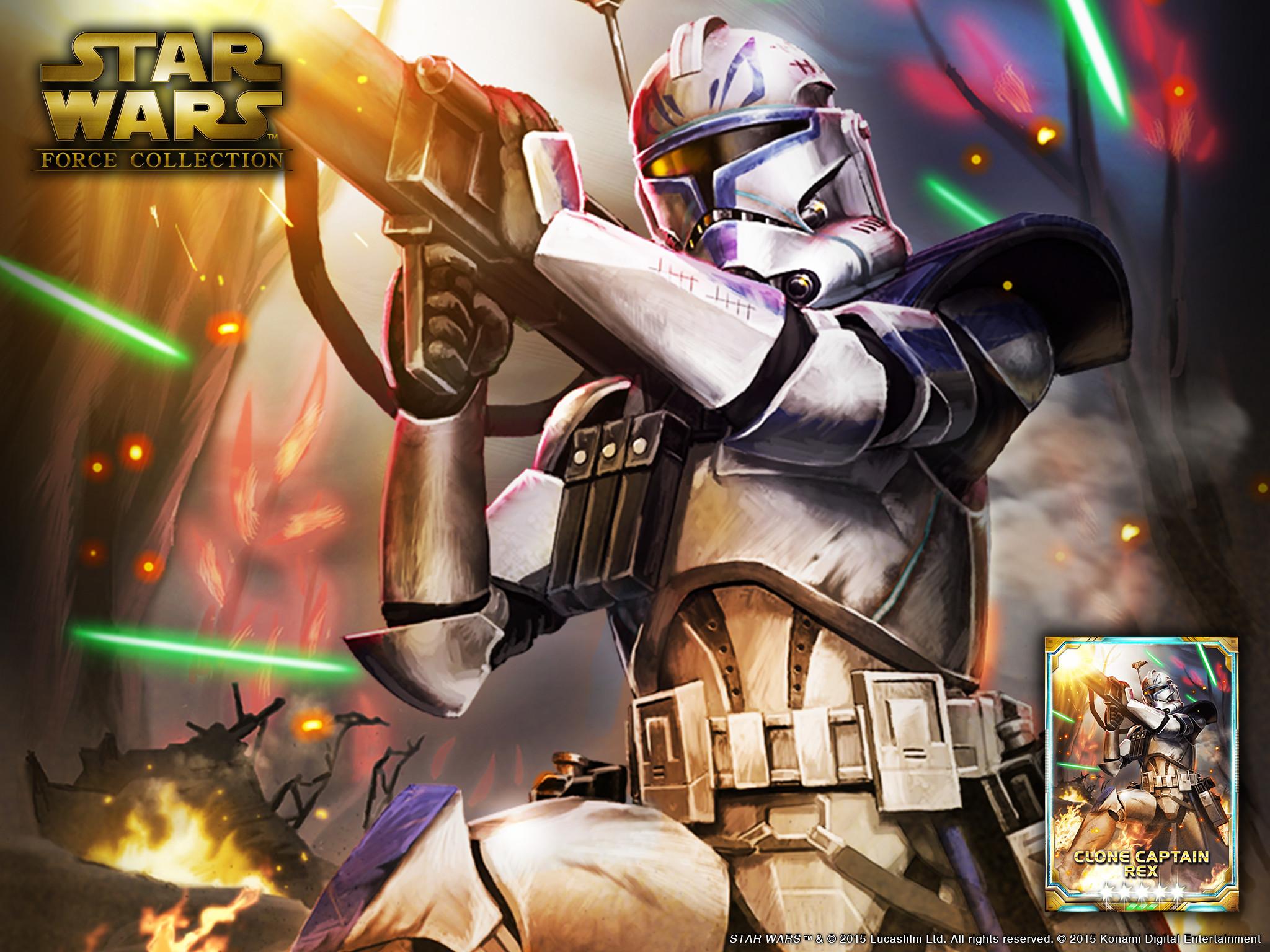 Star Wars Wallpaper Clone Wars Rex