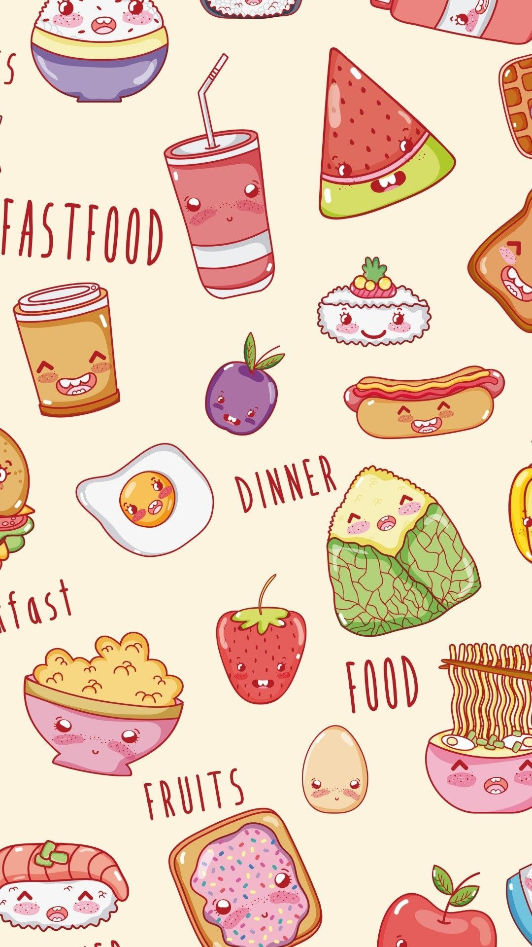 Kawaii food wallpaper 71 images - Kawaii food wallpaper ...