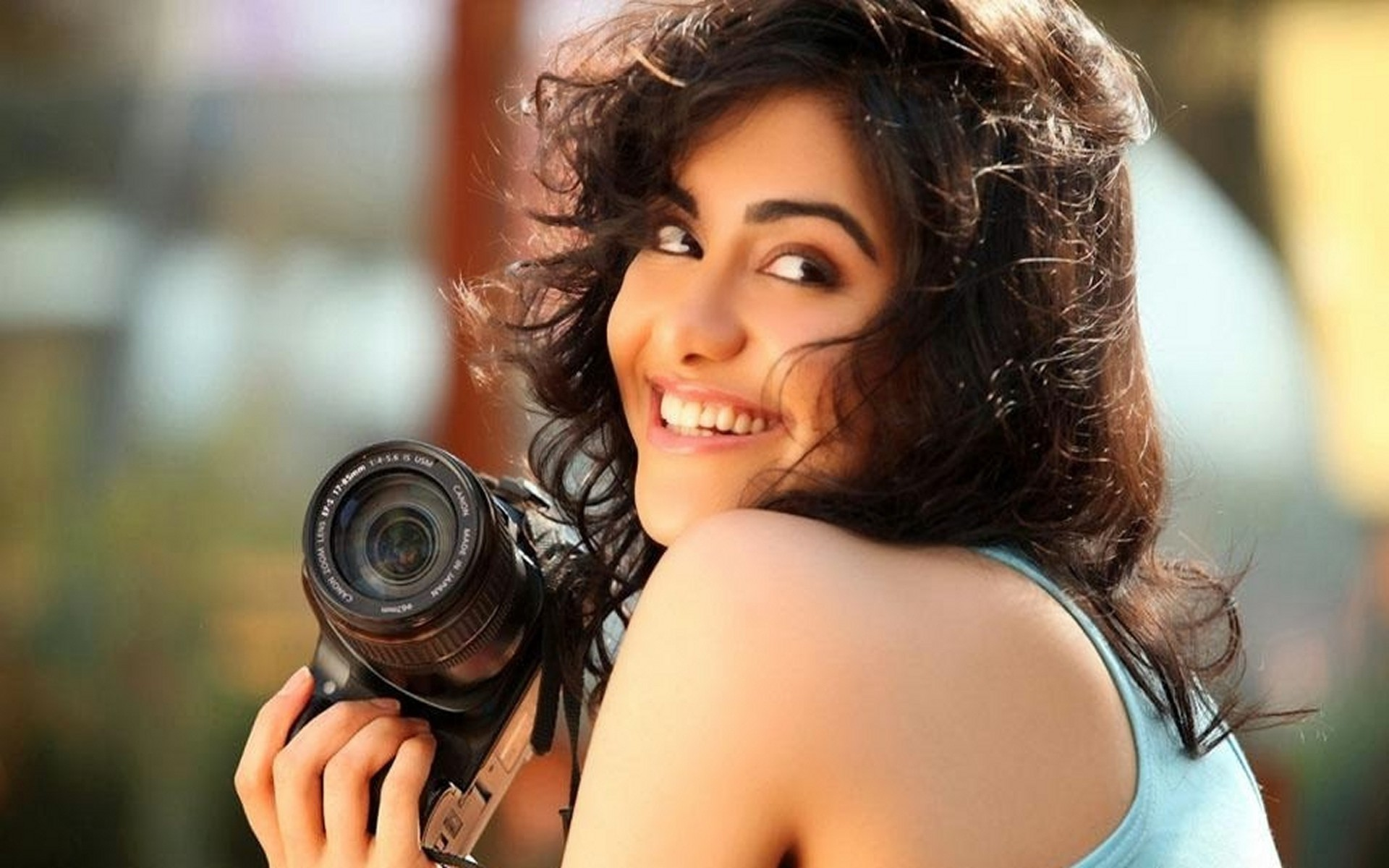 1920x1200 Adah Sharma cute smile beautiful wallpaper