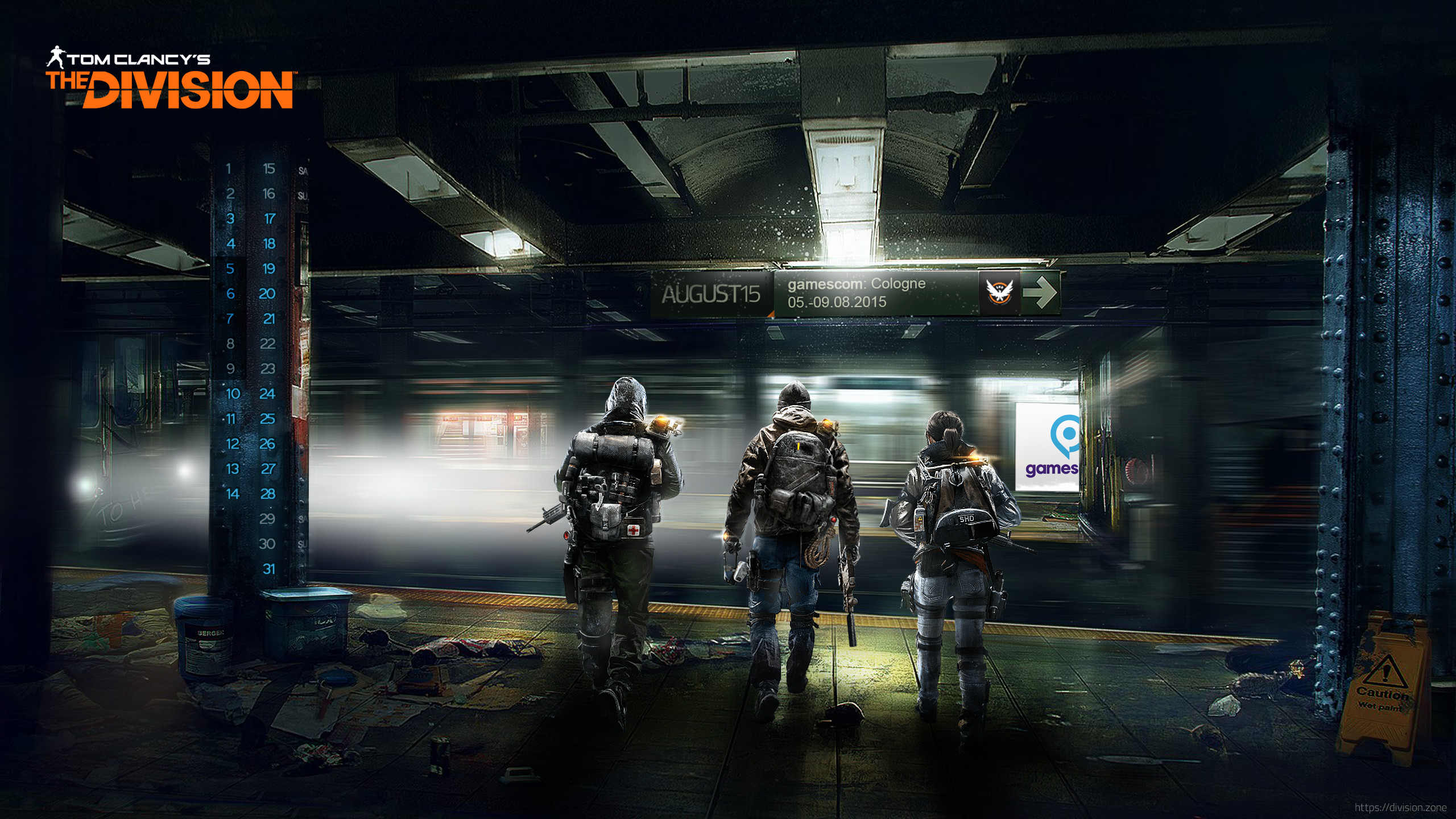2560x1440 The Division Video Game Wallpaper 1080p