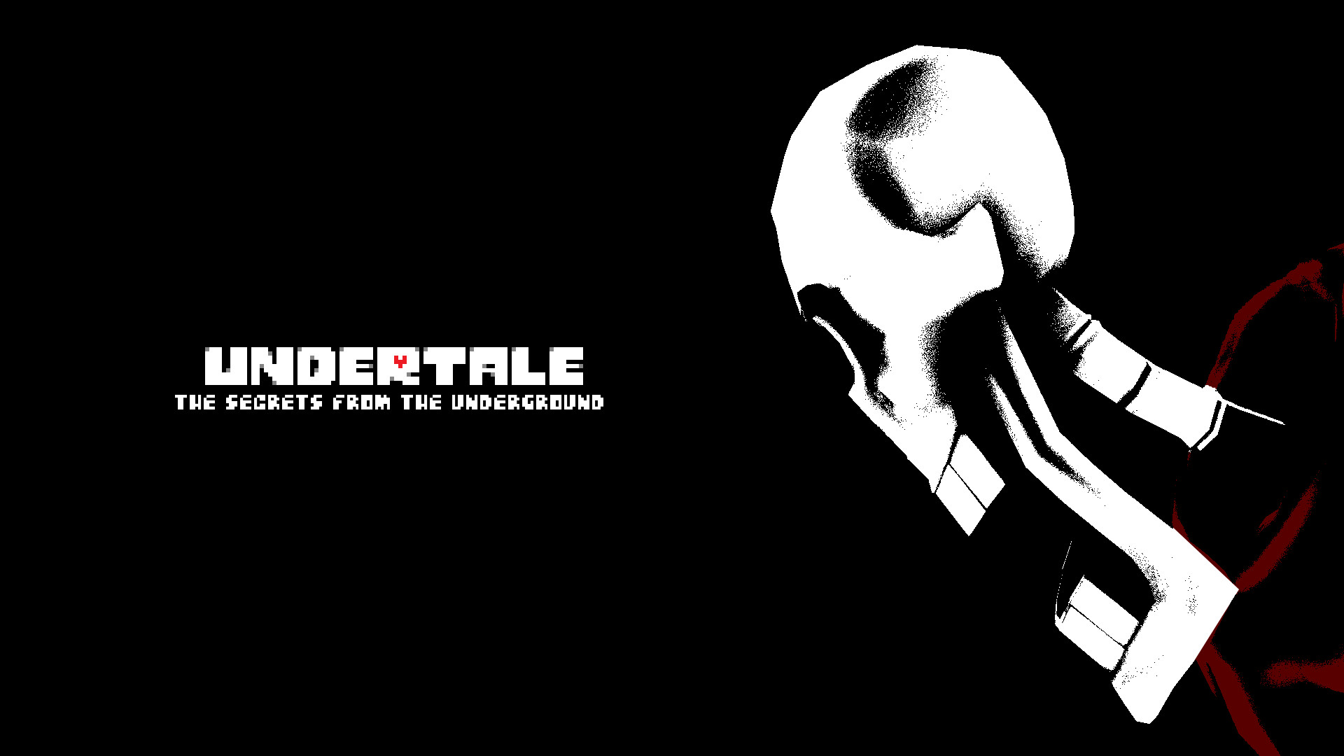 1920x1080 undertale wallpaper creepy