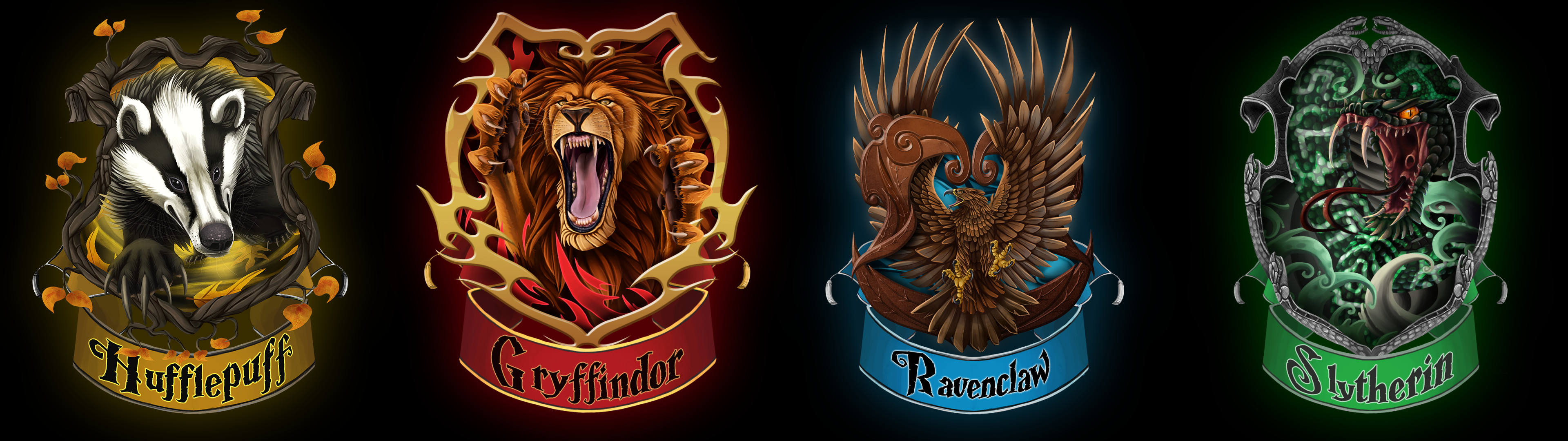 3840x1080 In Which Hogwarts houses your favs are ? - Random - OneHallyu